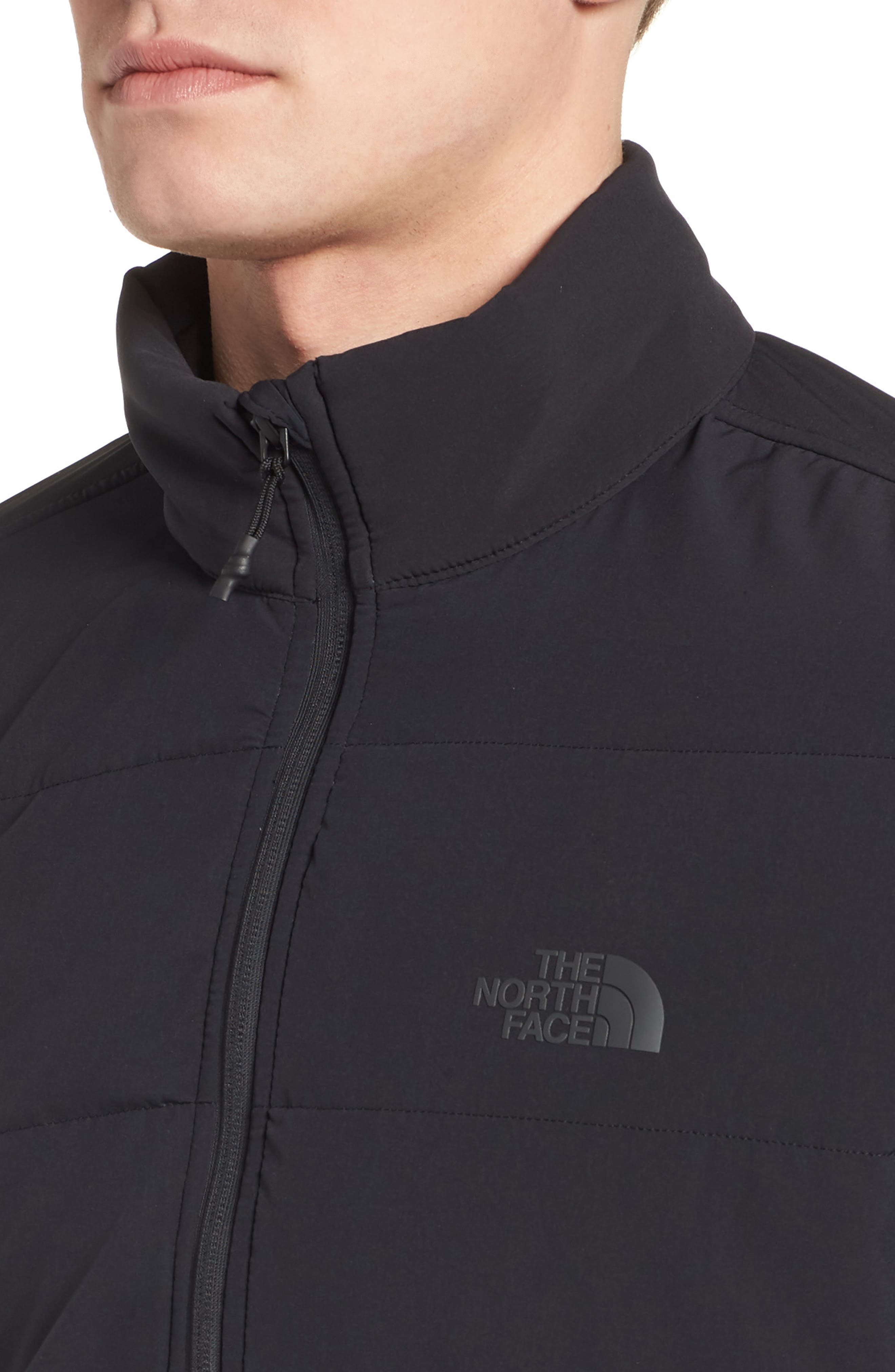 THE NORTH FACE,                             Mountain Quarter Zip Pullover,                             Alternate thumbnail 4, color,                             001