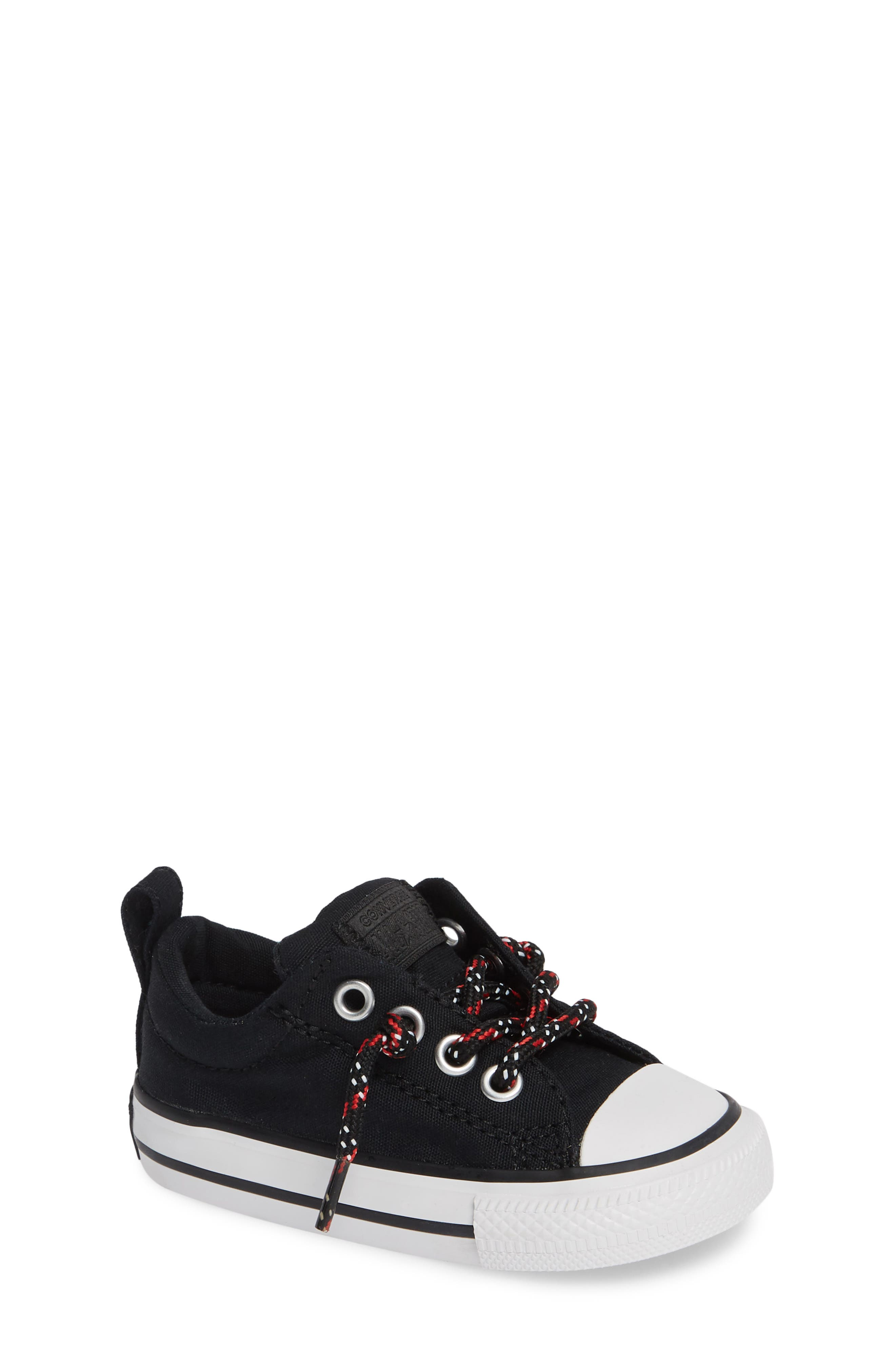 All Star<sup>®</sup> Graphite & Glitter Low Top Sneaker,                             Main thumbnail 1, color,                             002