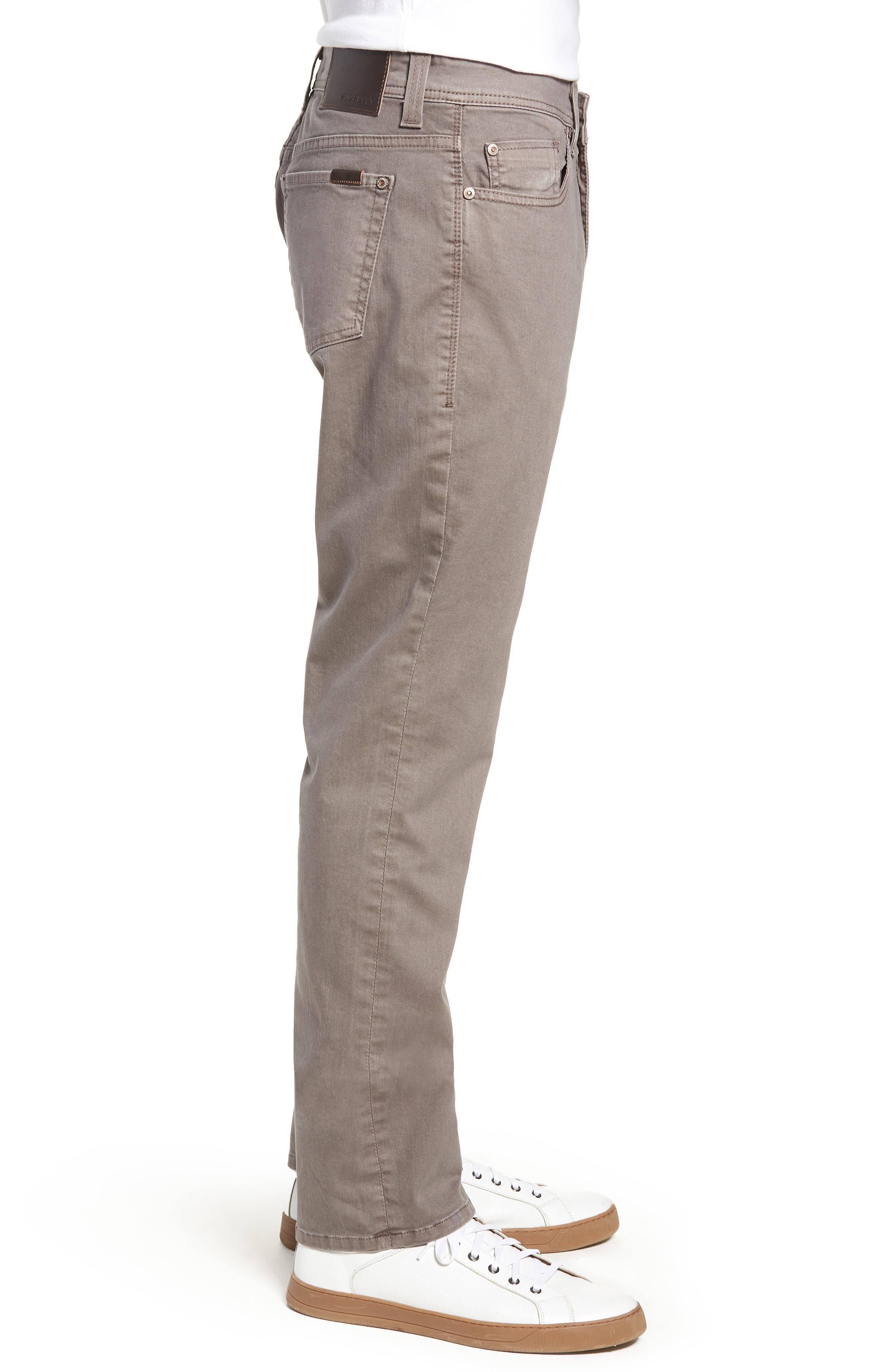 Jimmy Slim Straight Leg Jeans,                             Alternate thumbnail 3, color,                             020