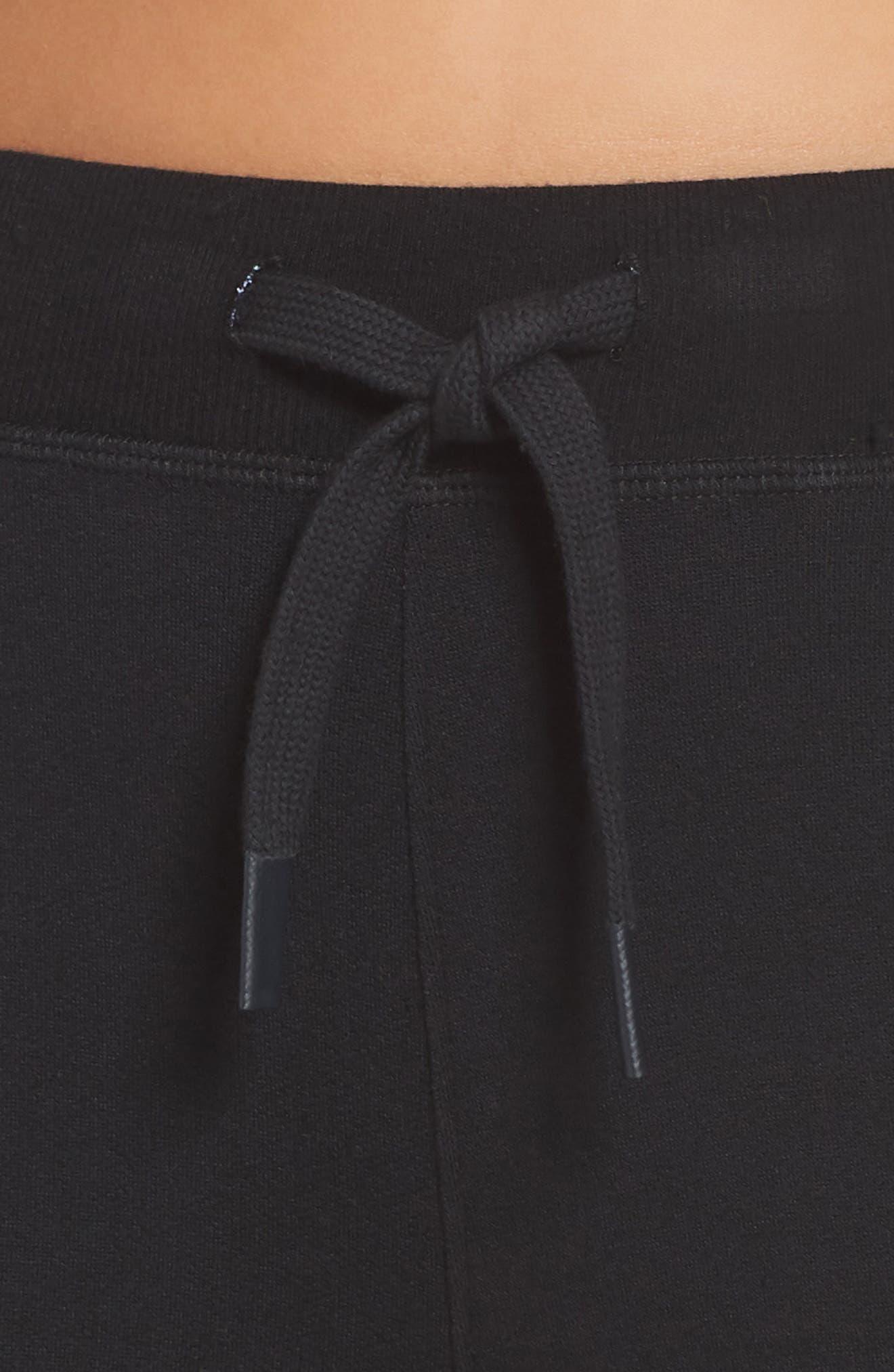 Reena Ankle Pants,                             Alternate thumbnail 4, color,                             BLACK