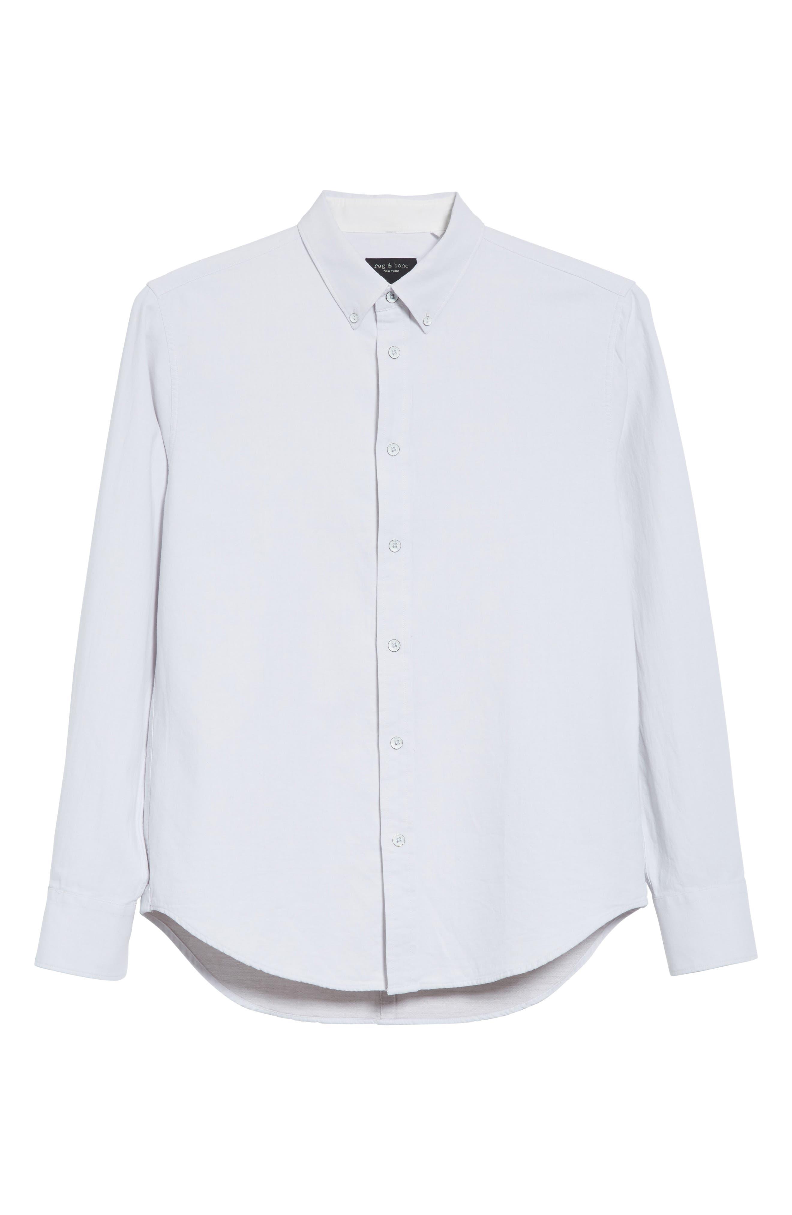 RAG & BONE,                             Tomlin Fit 2 Shirt,                             Alternate thumbnail 6, color,                             179