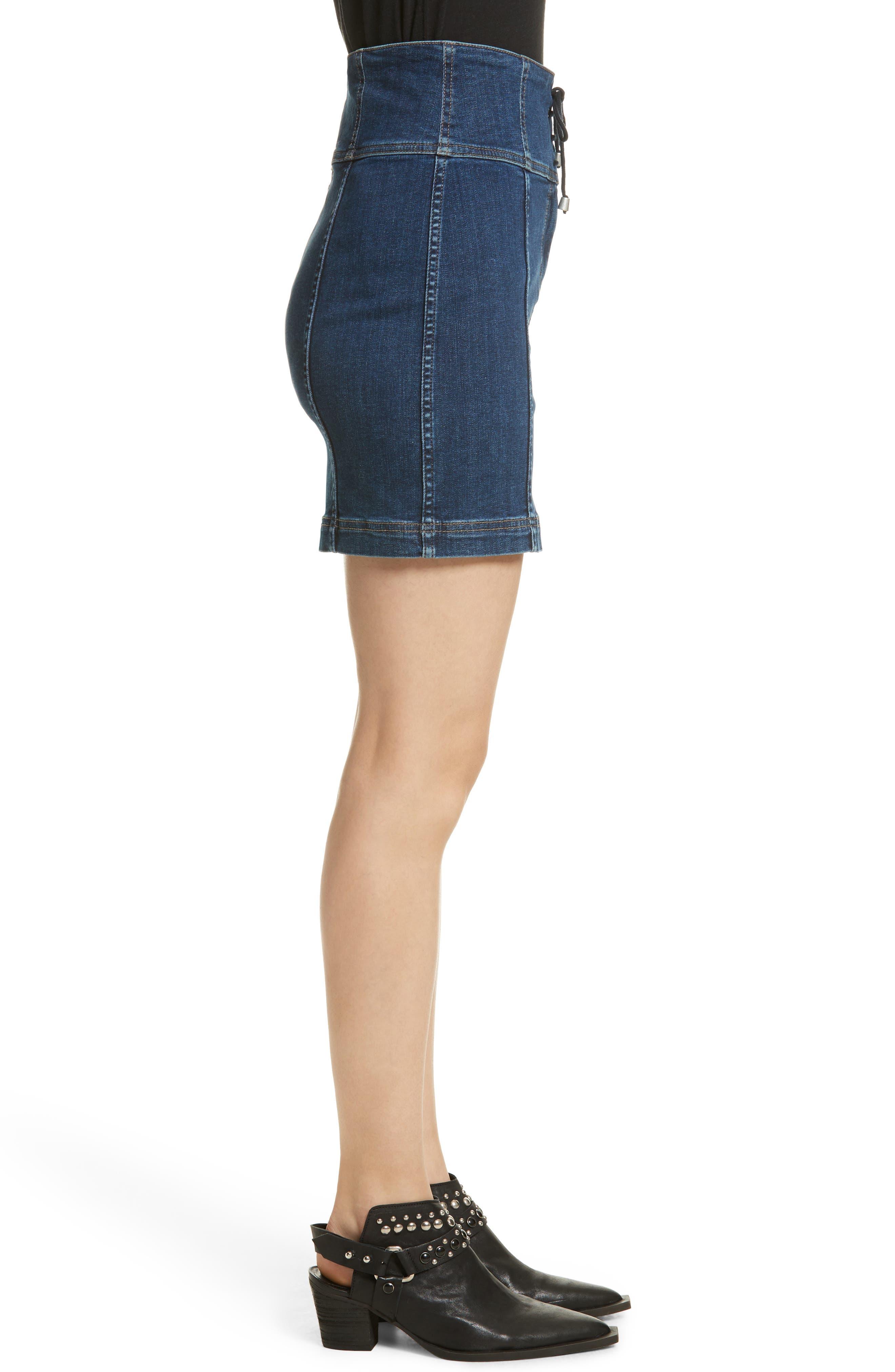 Modern Femme Corset Skirt,                             Alternate thumbnail 3, color,