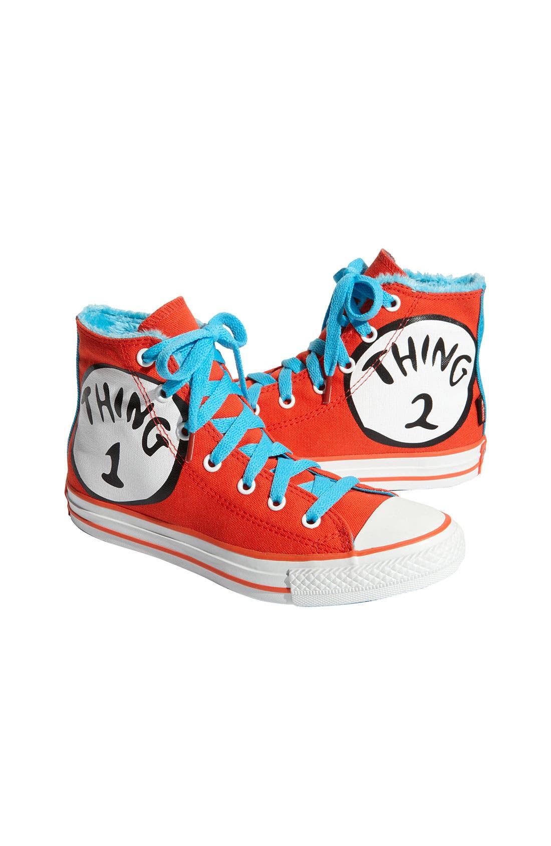 Chuck Taylor<sup>®</sup> 'Dr. Seuss - Thing 1 & Thing 2' Sneaker,                             Main thumbnail 1, color,                             618