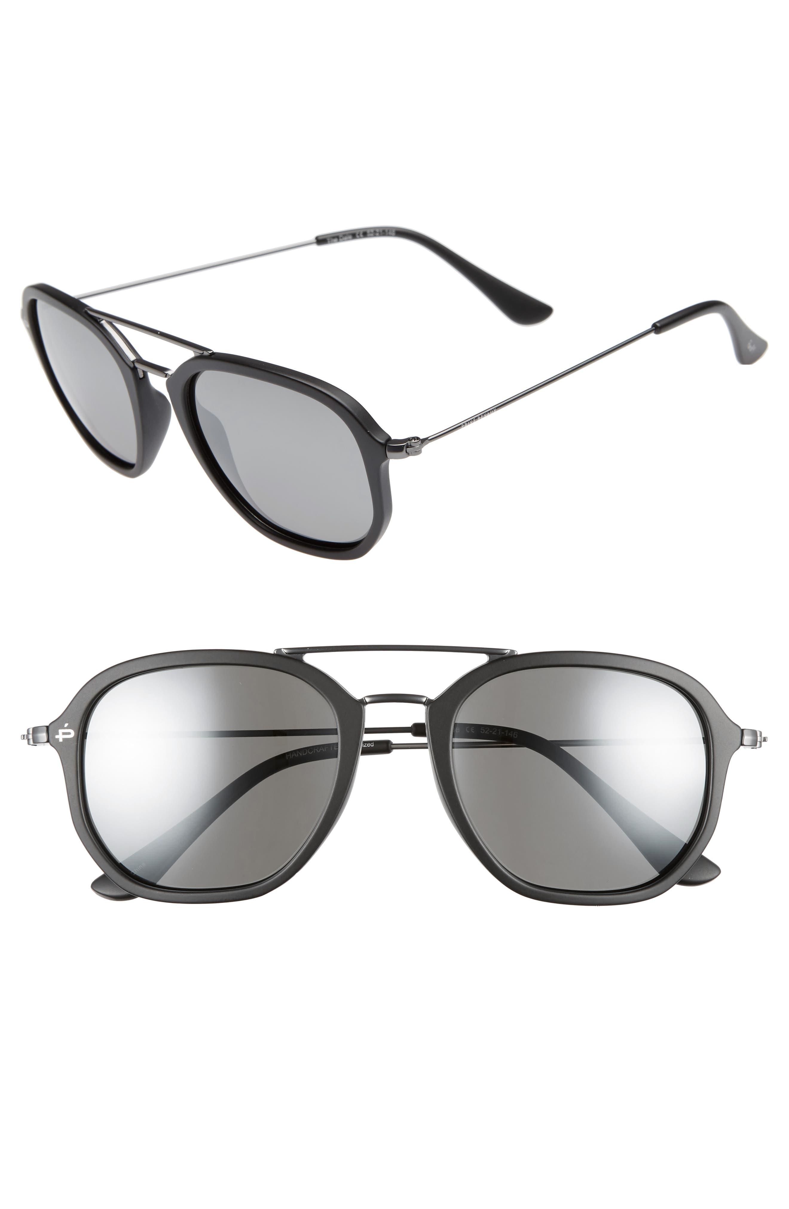 Privé Revaux The Dale Polarized 52mm Sunglasses,                         Main,                         color, 001