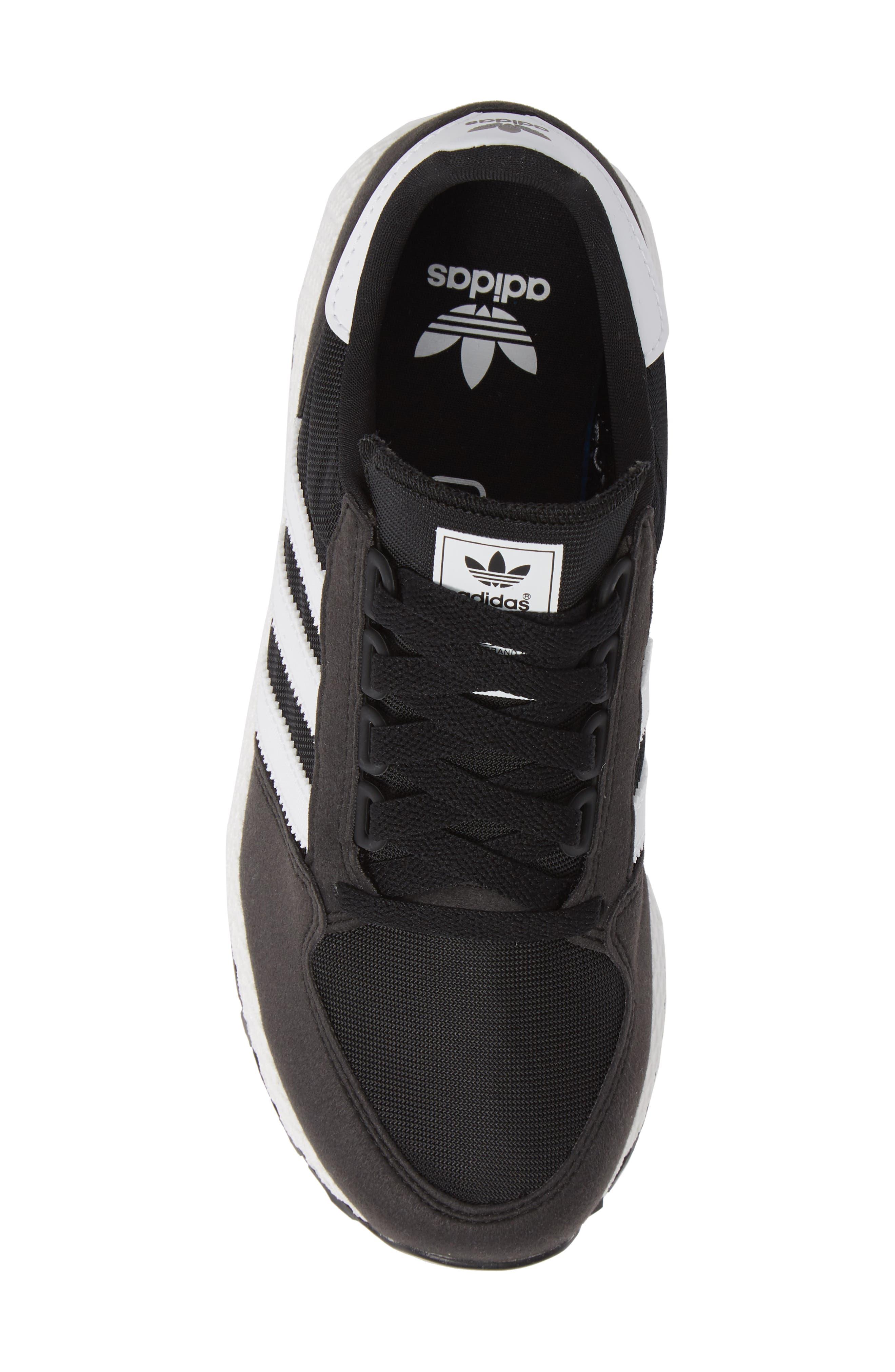 Forest Grove Sneaker,                             Alternate thumbnail 5, color,                             BLACK/ WHITE/ BLACK