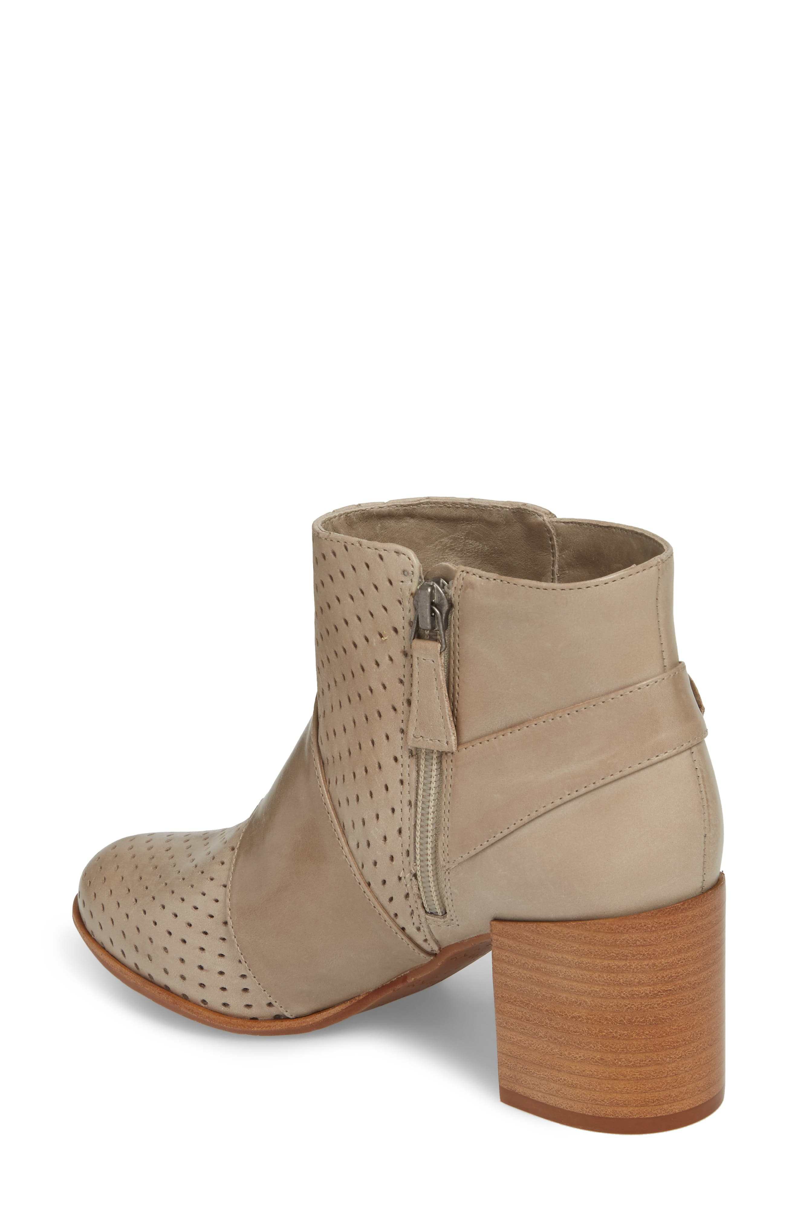 Felice Bootie,                             Alternate thumbnail 2, color,                             GREY LEATHER