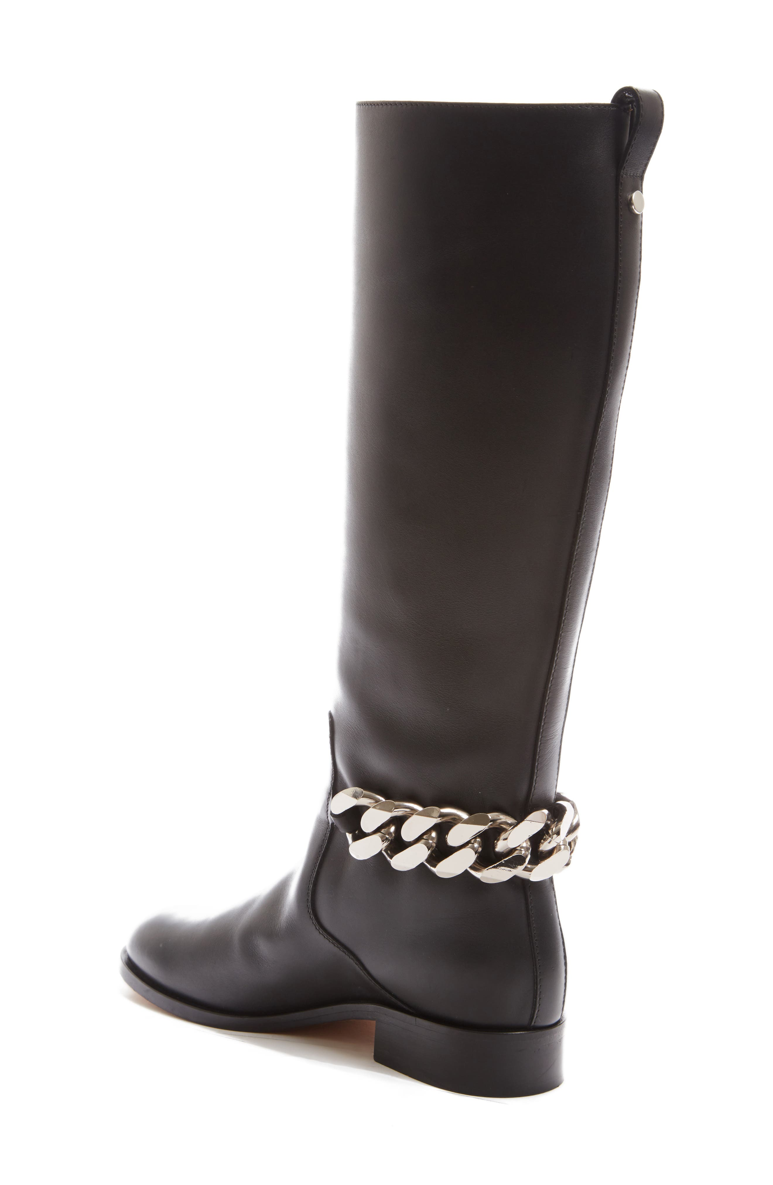 Chain Tall Boot,                             Alternate thumbnail 2, color,                             001