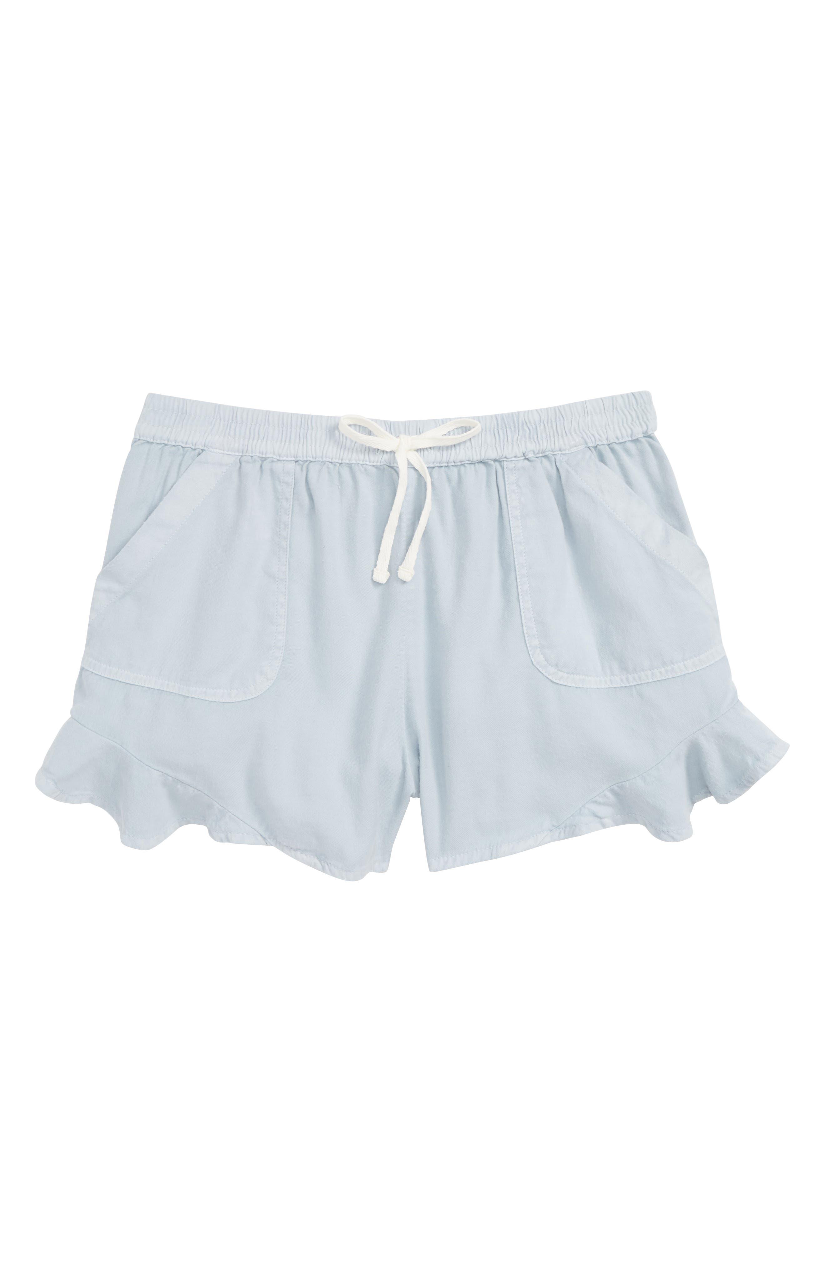 Mad For Summer Shorts,                             Main thumbnail 1, color,                             CHAMBRAY