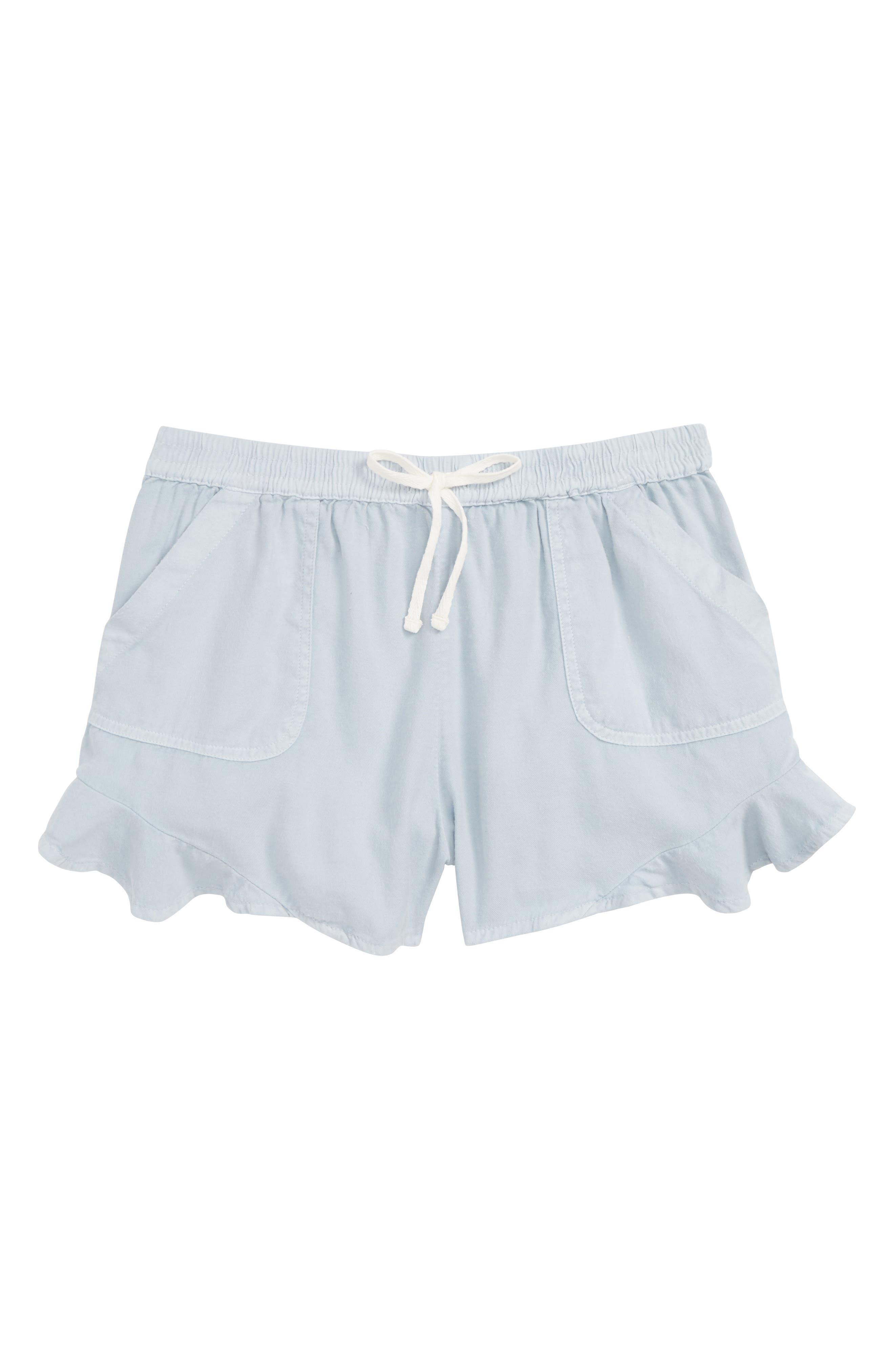 Mad For Summer Shorts,                         Main,                         color, CHAMBRAY
