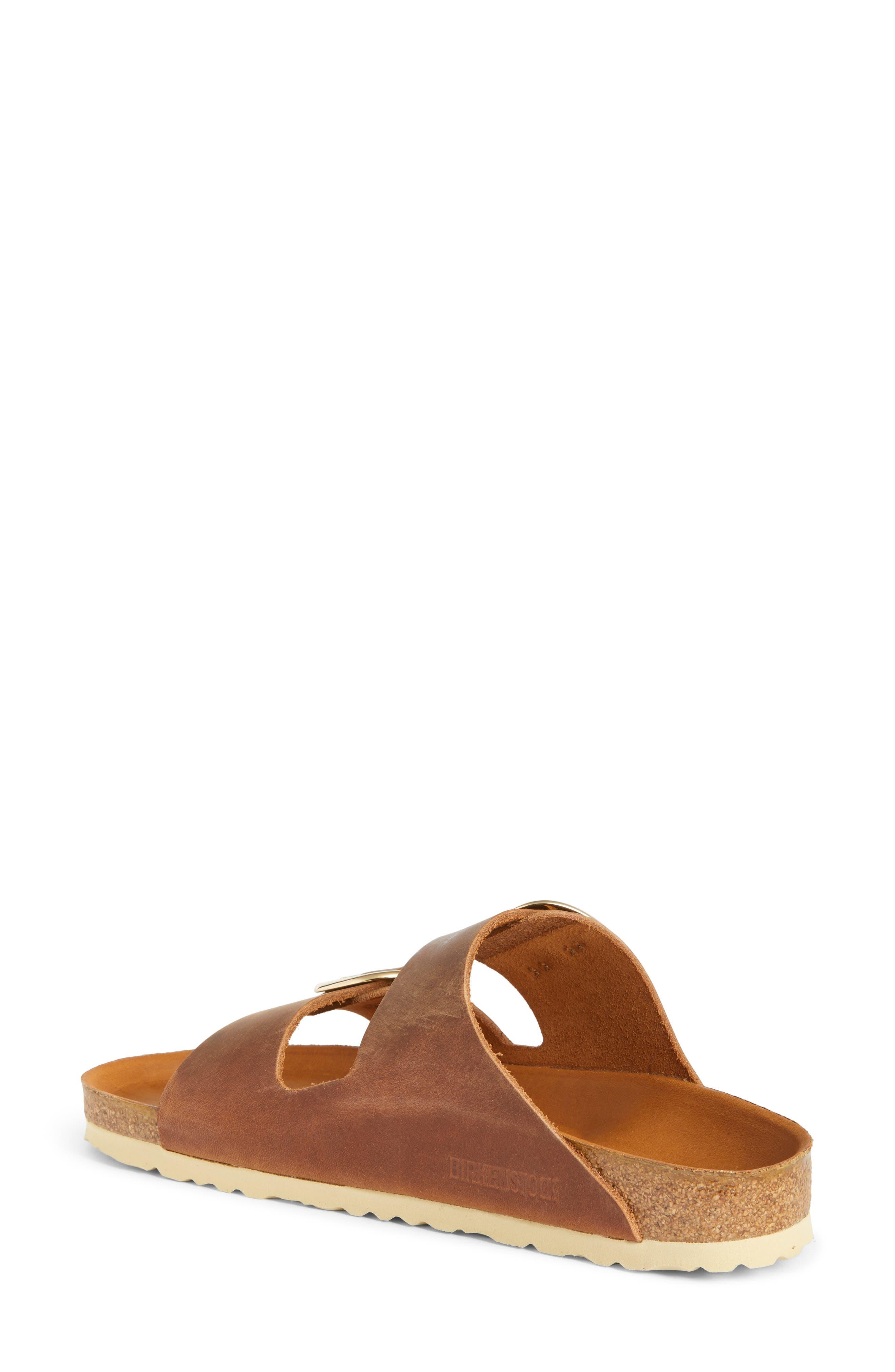 Arizona Big Buckle Slide Sandal,                             Alternate thumbnail 9, color,