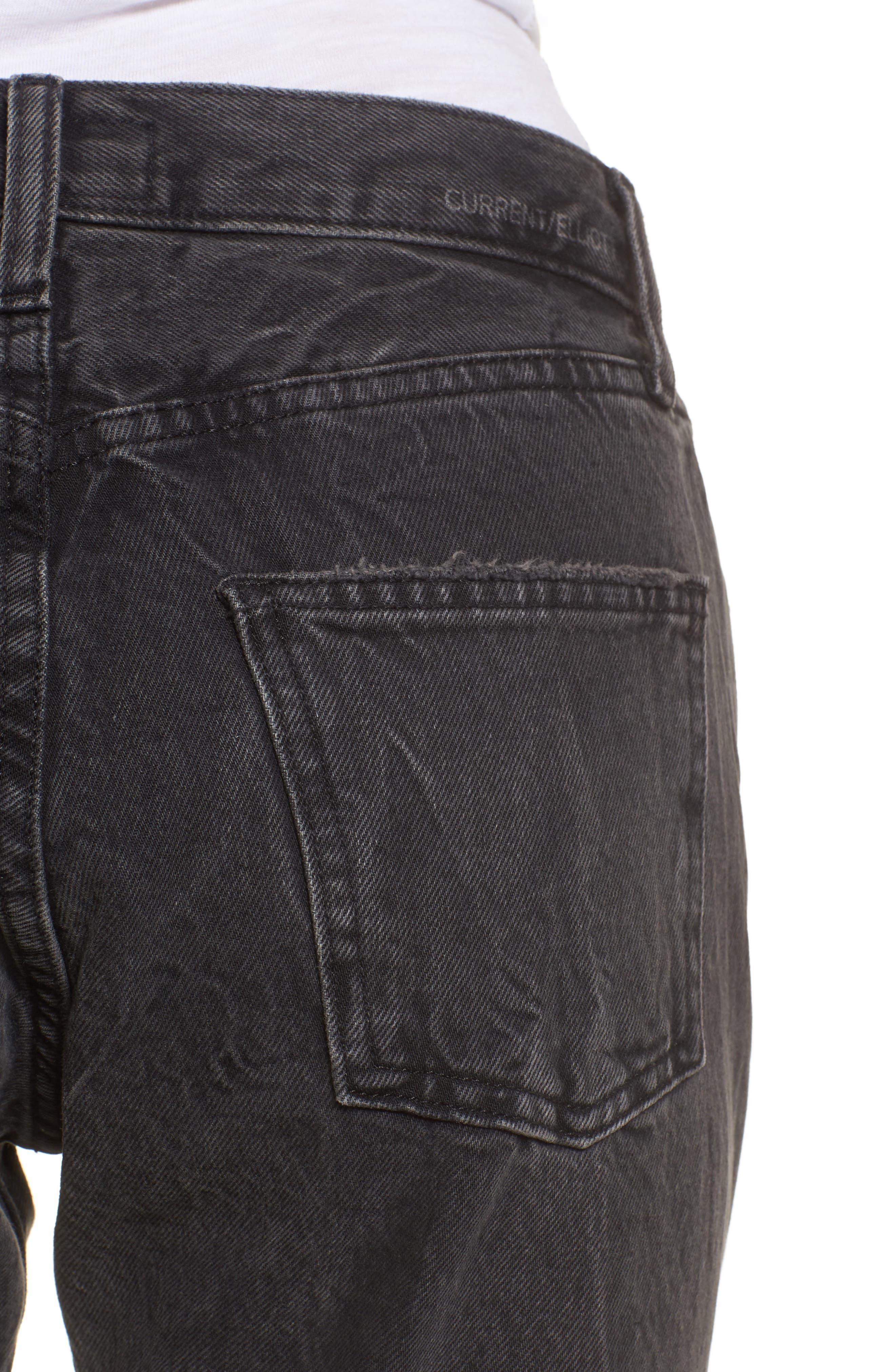 The Original Straight Leg Crop Jeans,                             Alternate thumbnail 4, color,