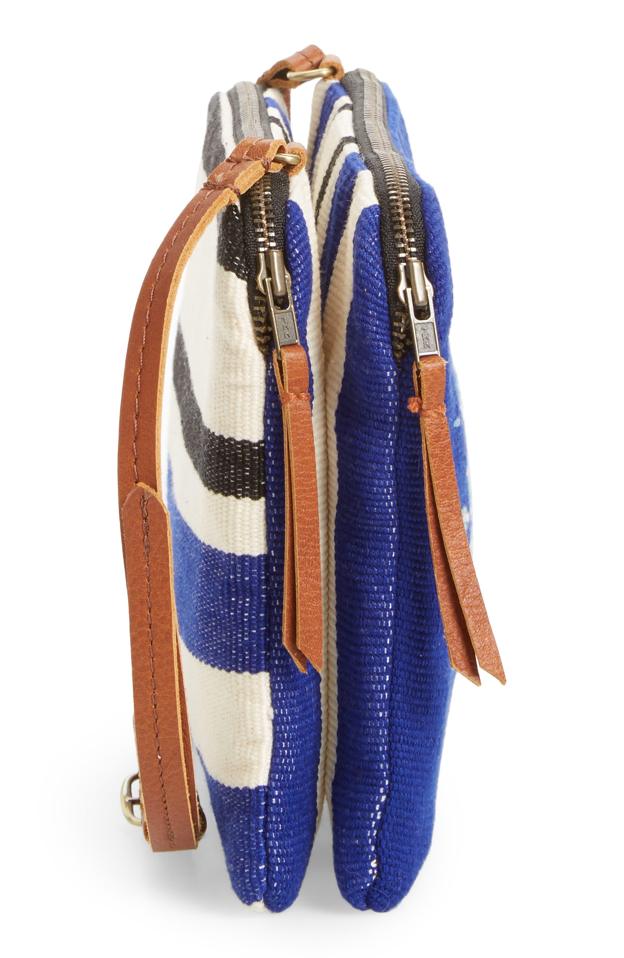 Andrea Canvas Crossbody Bag,                             Alternate thumbnail 14, color,