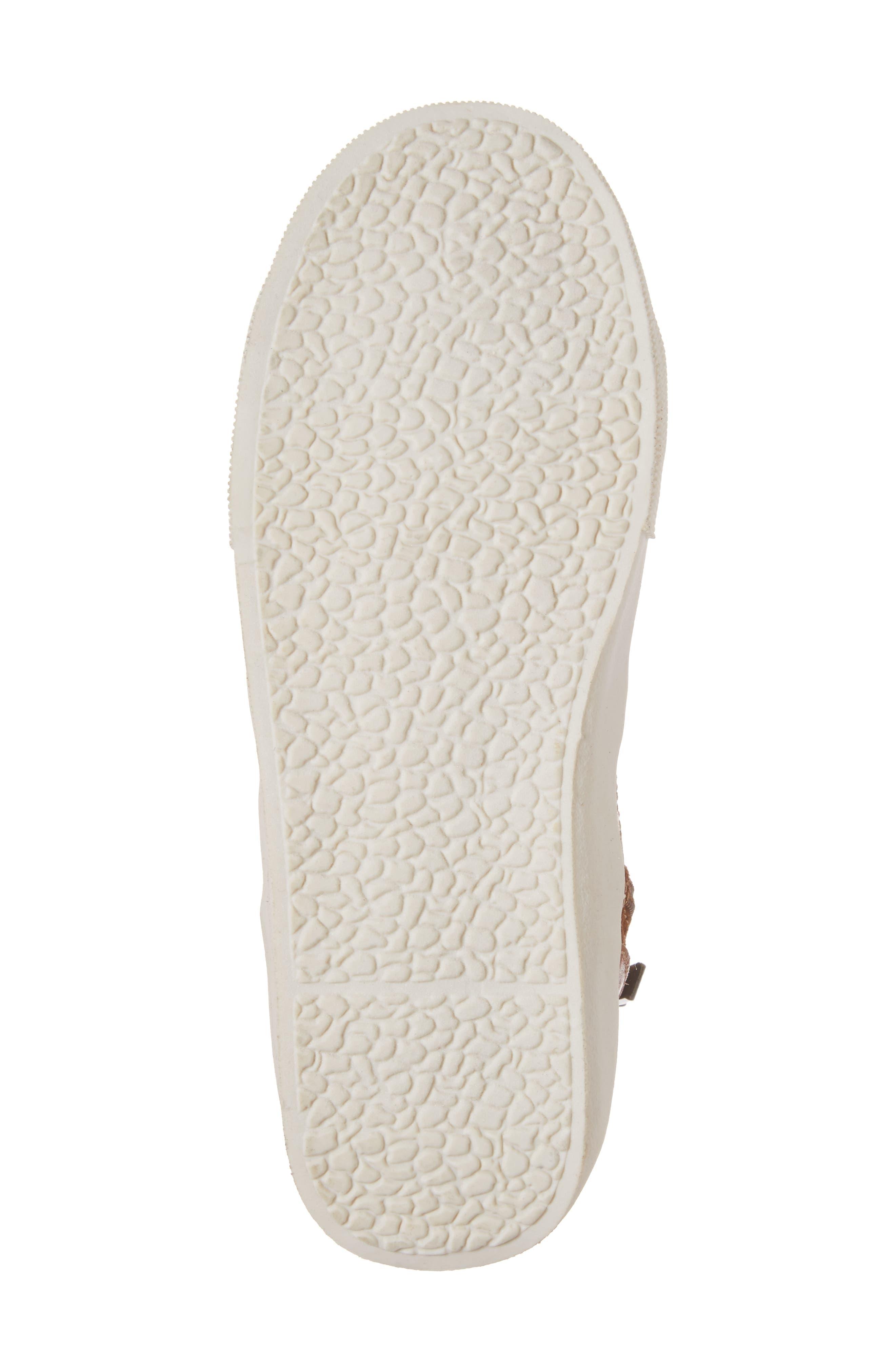 Jay Top High-Top Zip Sneaker,                             Alternate thumbnail 6, color,                             205
