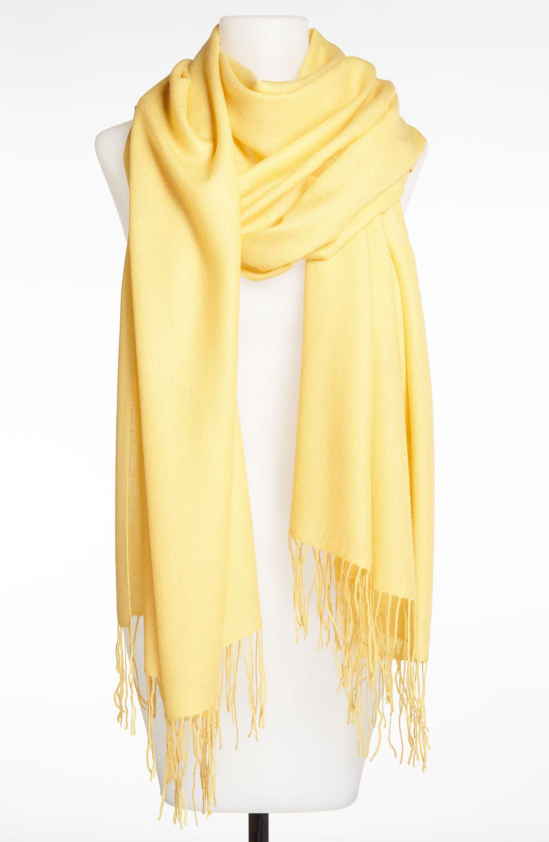 Tissue Weight Wool & Cashmere Wrap,                             Main thumbnail 160, color,