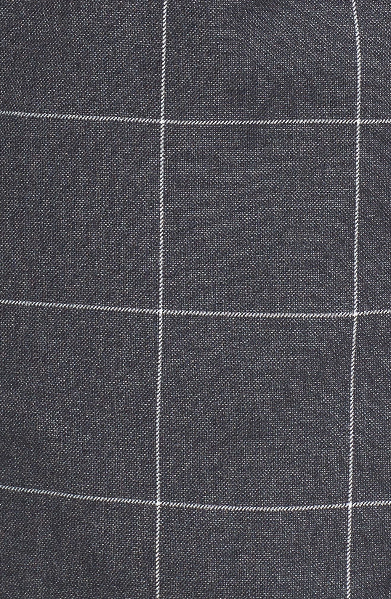 Check Flannel Bomber Jacket,                             Alternate thumbnail 5, color,                             419