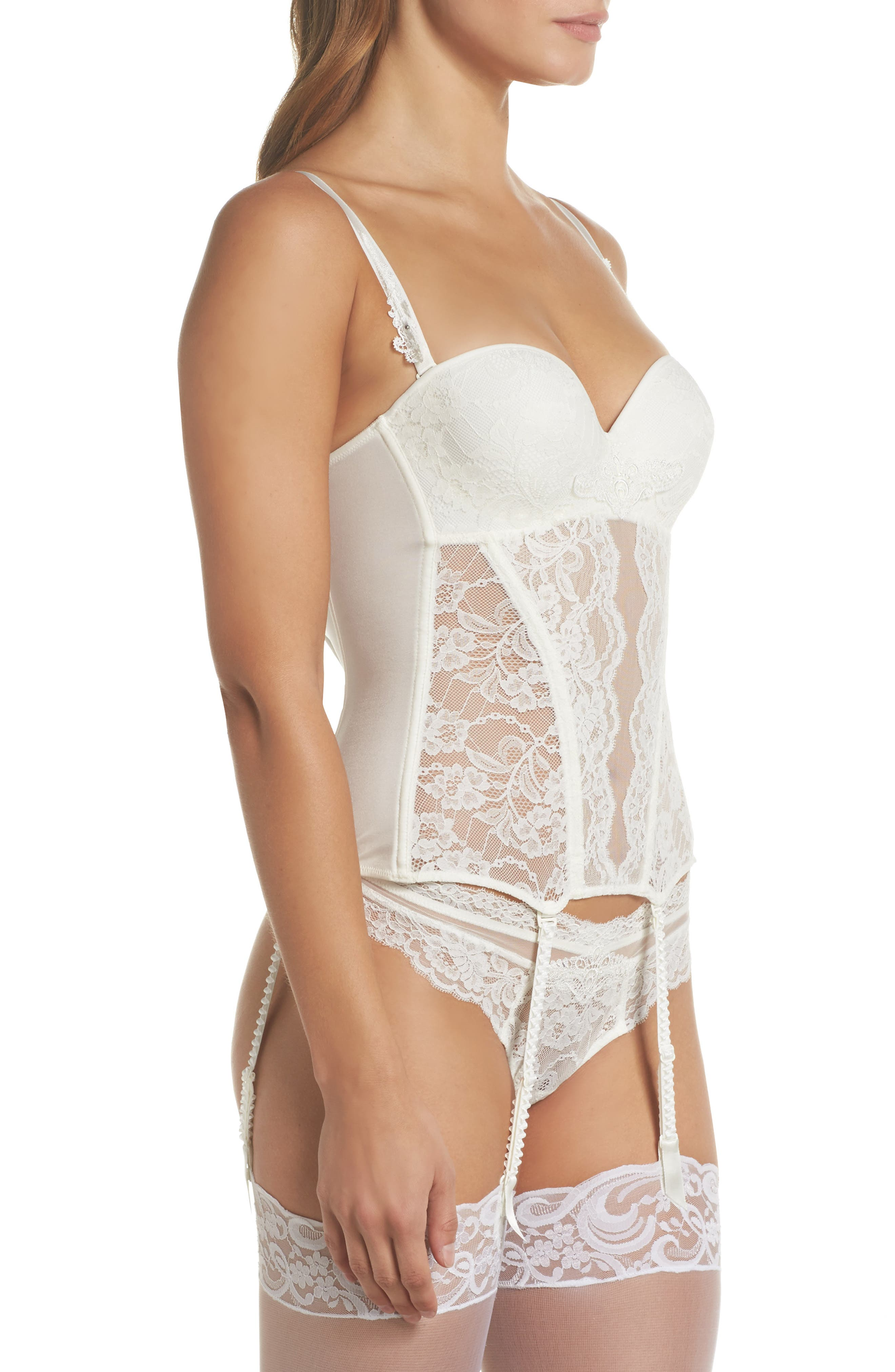 Exception Charme Thong,                             Alternate thumbnail 8, color,                             NACRE