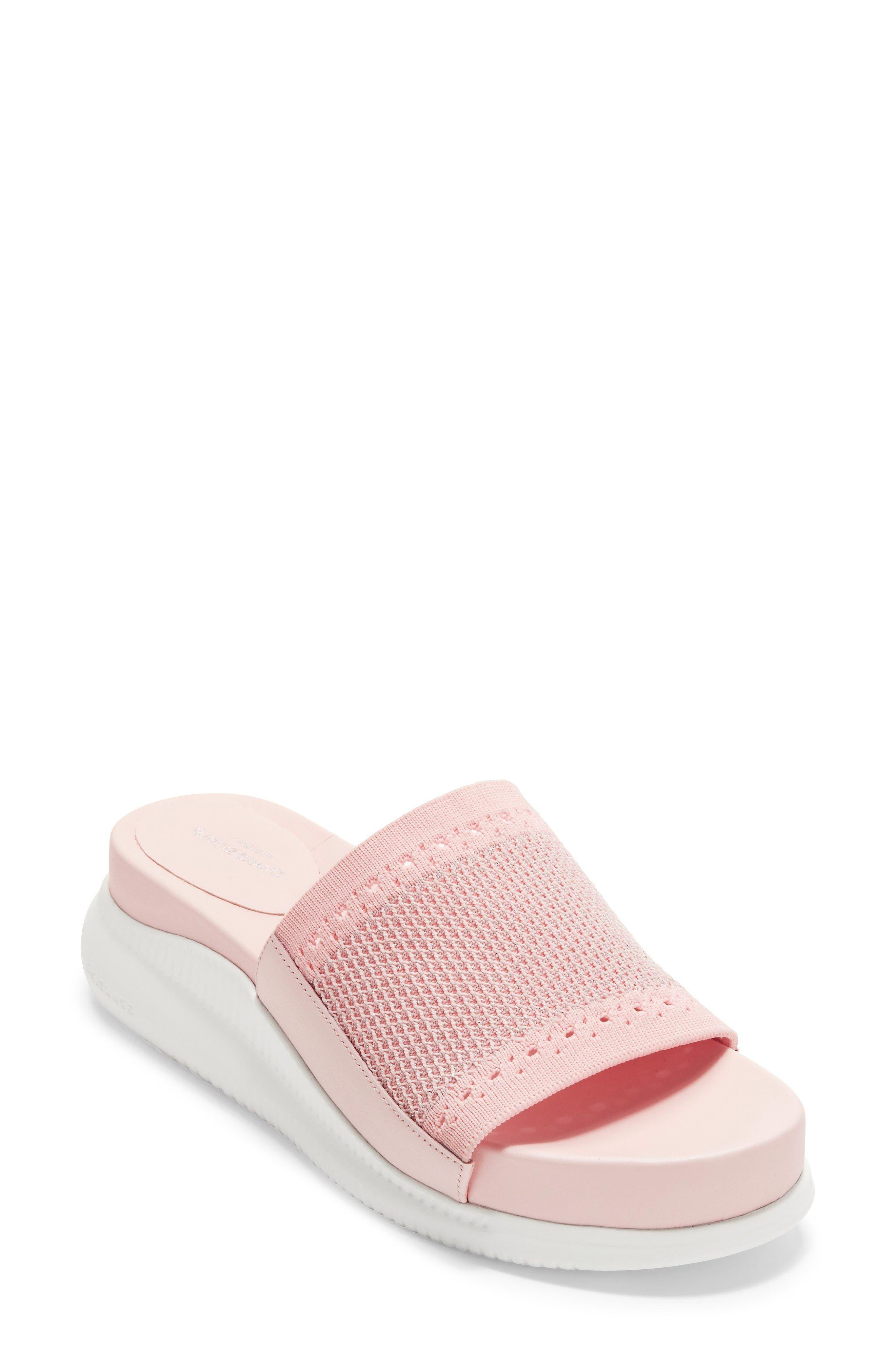 Cole Haan 2.zerogrand Stitchlite(TM) Slide Sandal- Pink