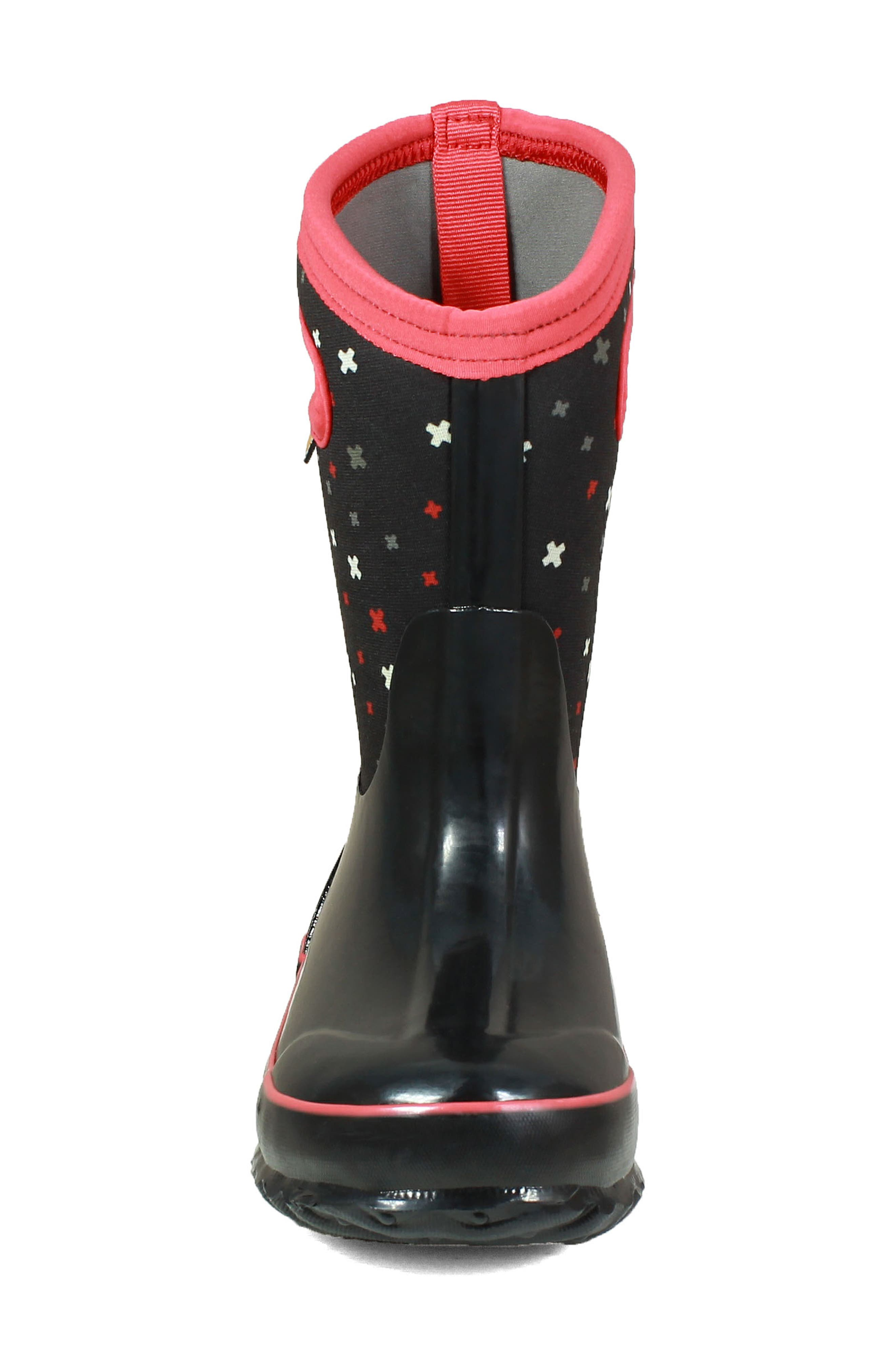 Classic Print Insulated Waterproof Boot,                             Alternate thumbnail 4, color,                             009
