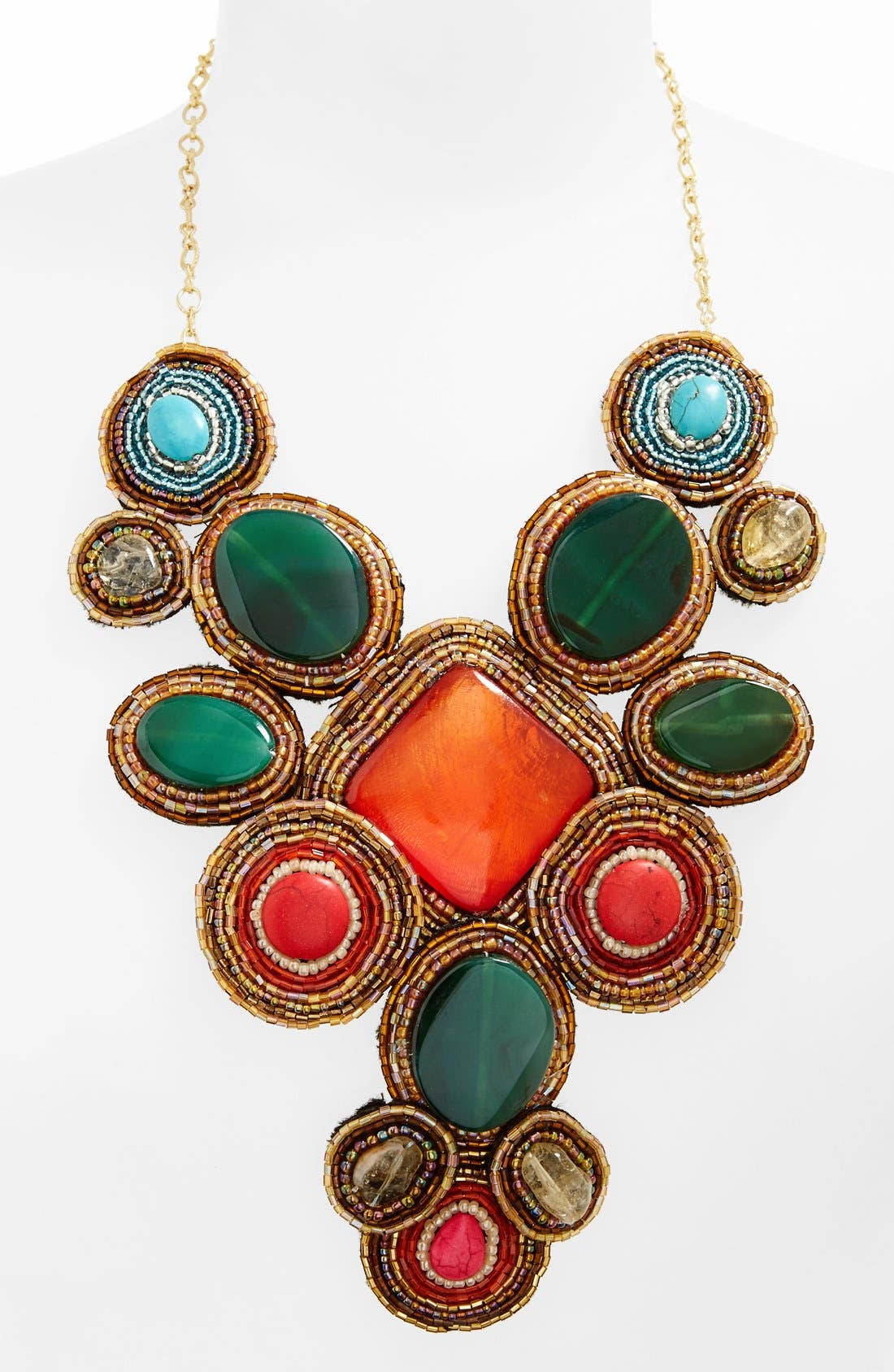 'Beads of Glory' Collar Necklace,                             Alternate thumbnail 2, color,                             960