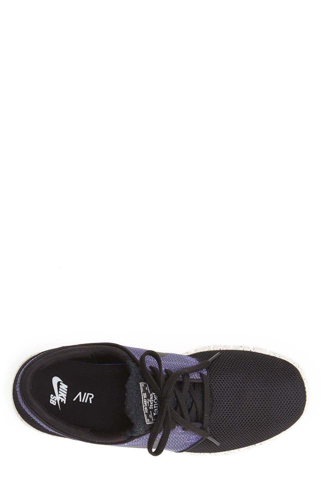 'Stefan Janoski - Max SB' Skate Shoe,                             Alternate thumbnail 8, color,                             BLACK/ PRO PURPLE/ WHITE
