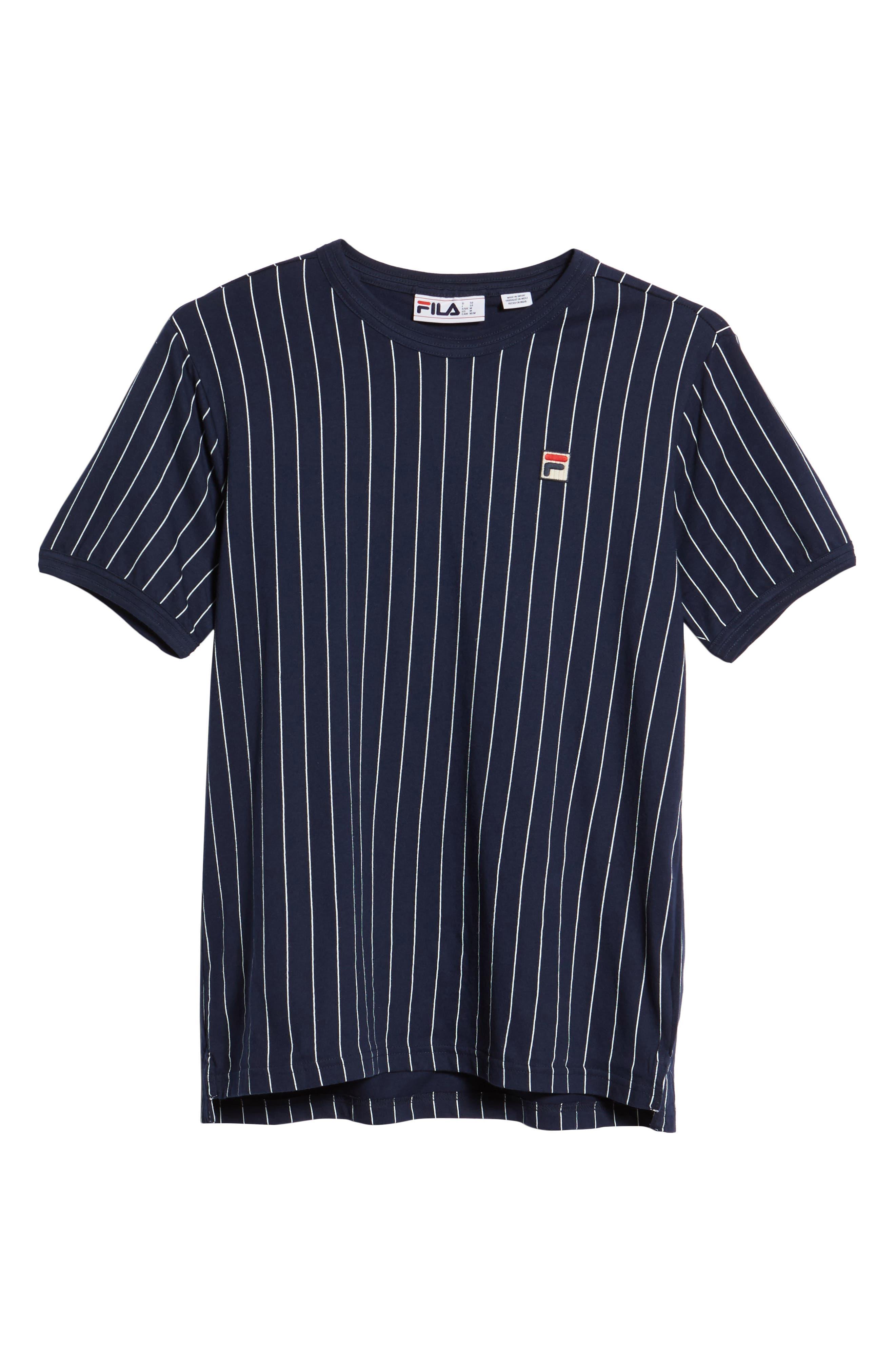 Guilo T-Shirt,                             Alternate thumbnail 6, color,                             PEACOAT/ WHITE