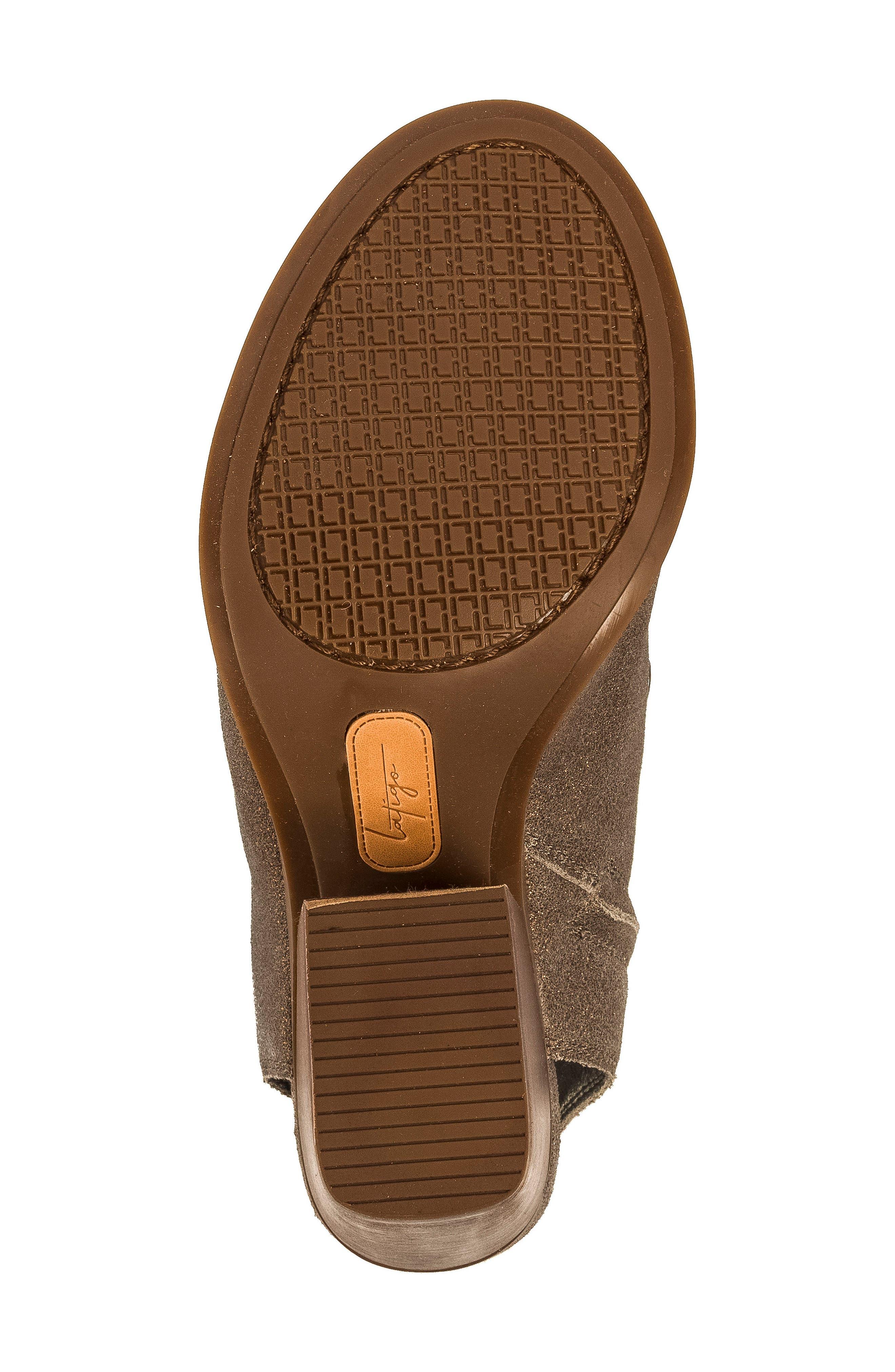 Alanis Tall Woven Sandal,                             Alternate thumbnail 6, color,