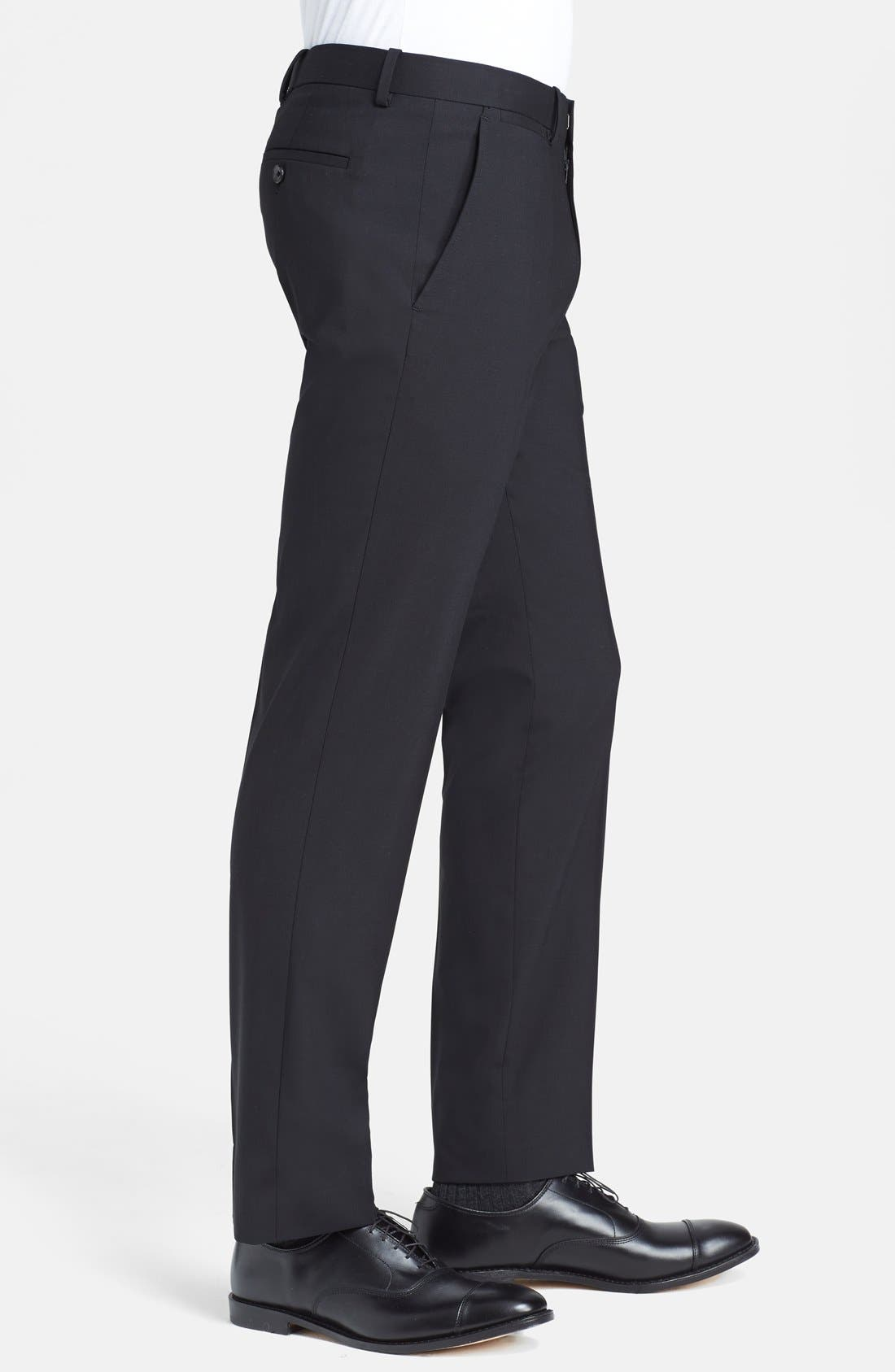 'Marlo New Tailor' Slim Fit Pants,                             Alternate thumbnail 6, color,