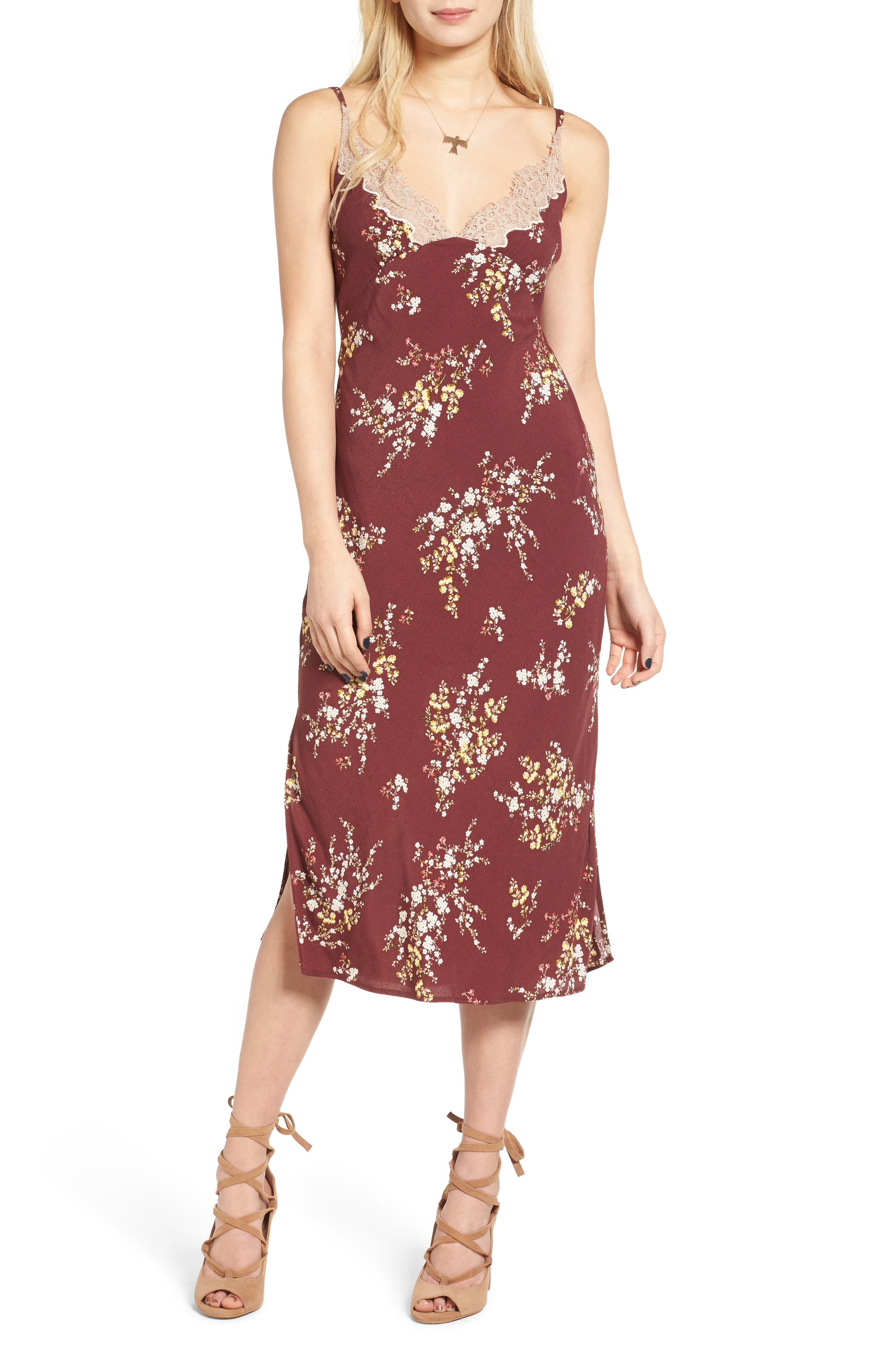 Iris Midi Dress,                         Main,                         color,