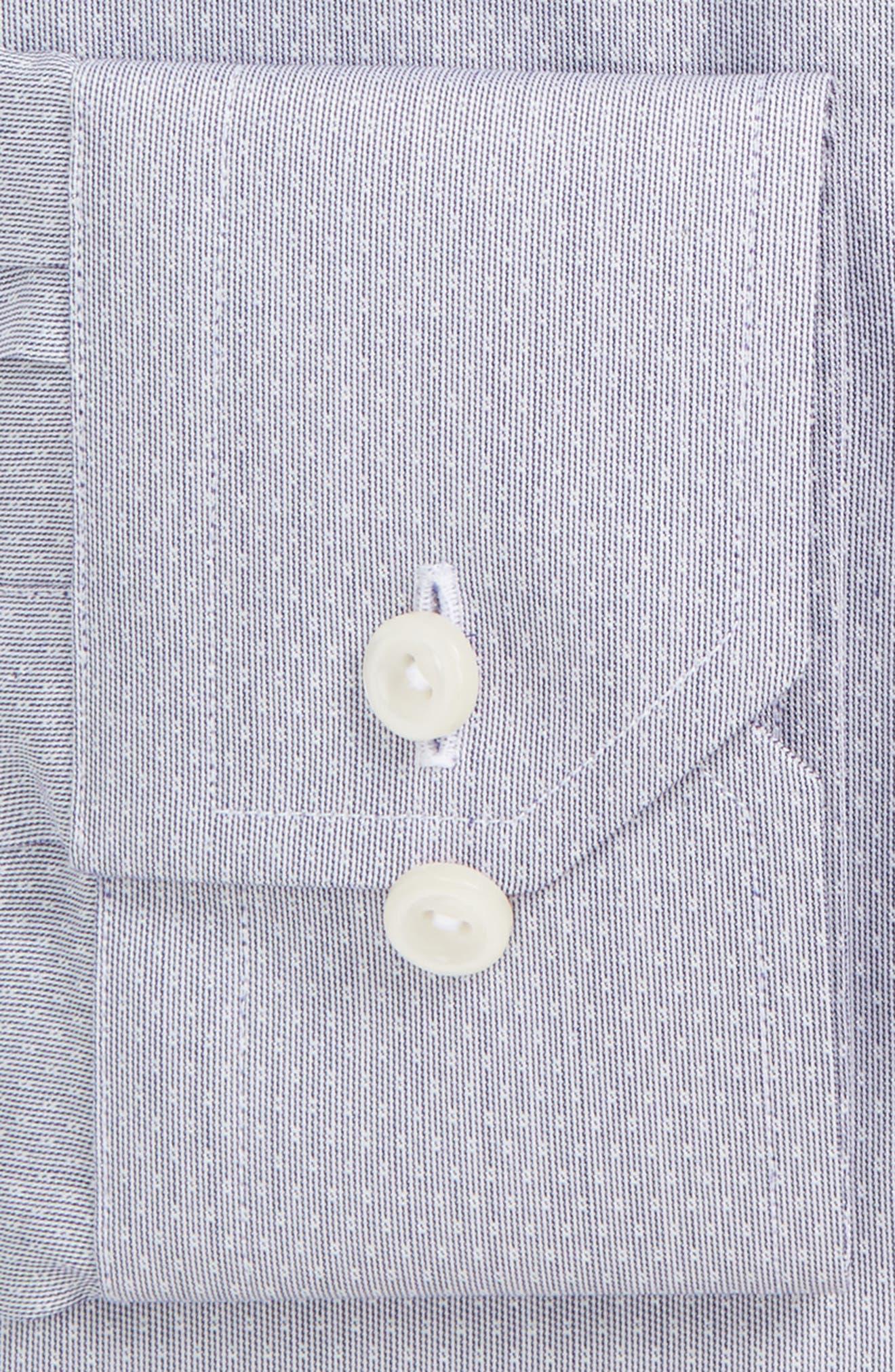 Contemporary Fit Dot Dress Shirt,                         Main,                         color, 020