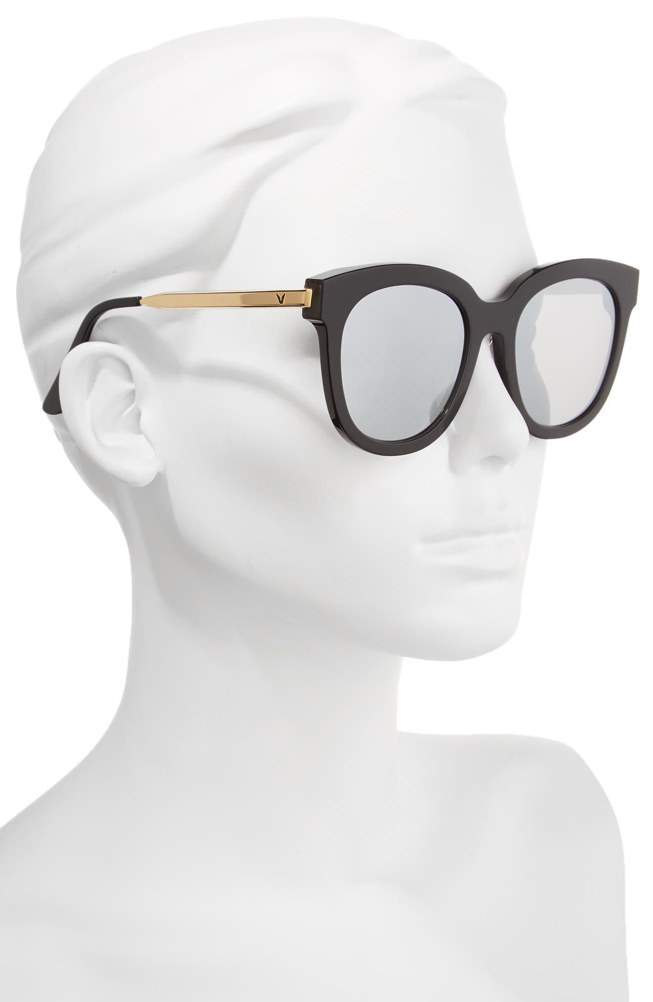 Cuba 503 55mm Zeiss Lens Sunglasses,                             Alternate thumbnail 2, color,                             001