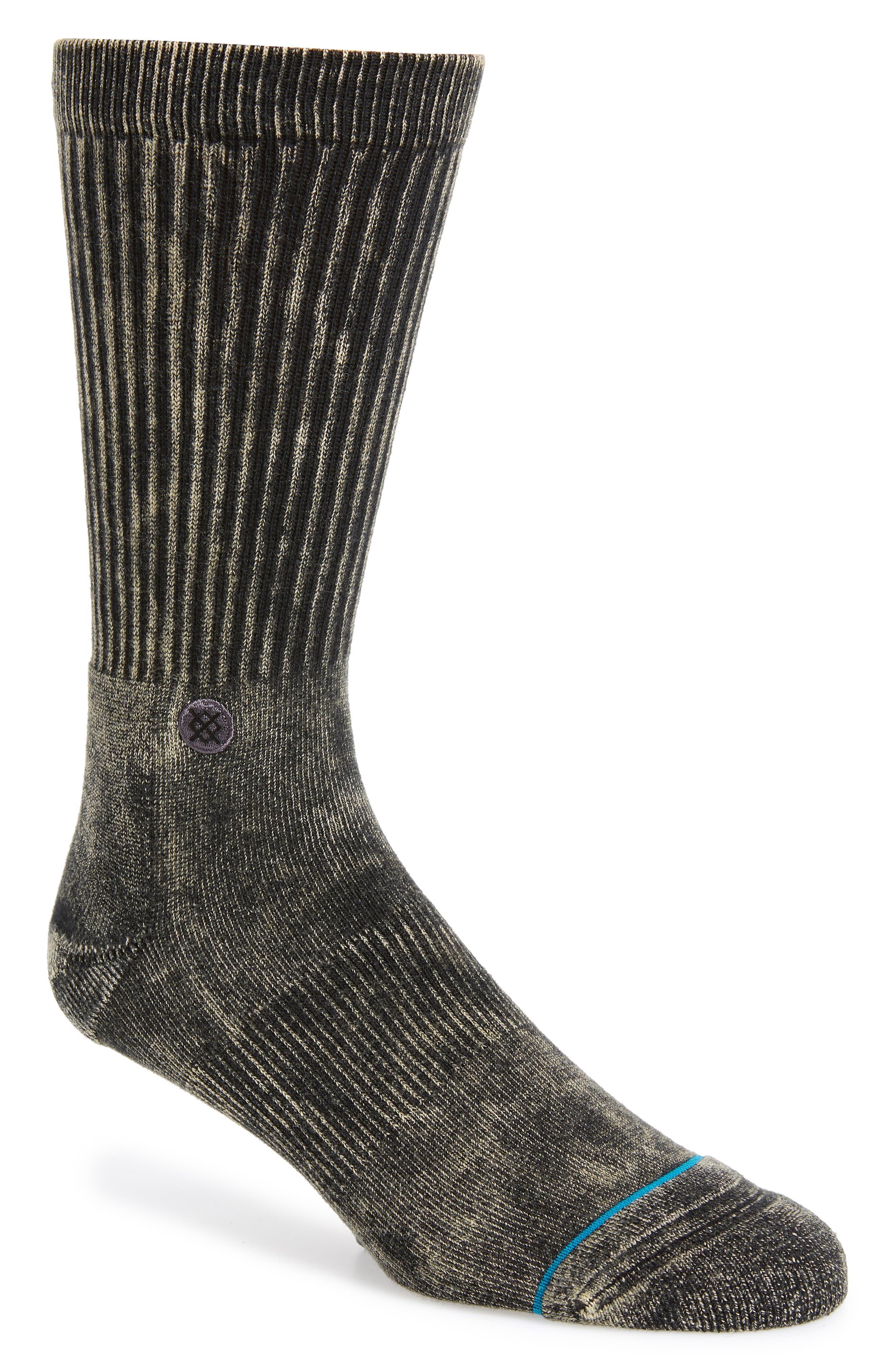 OG 2 Socks,                             Main thumbnail 1, color,                             BLACK