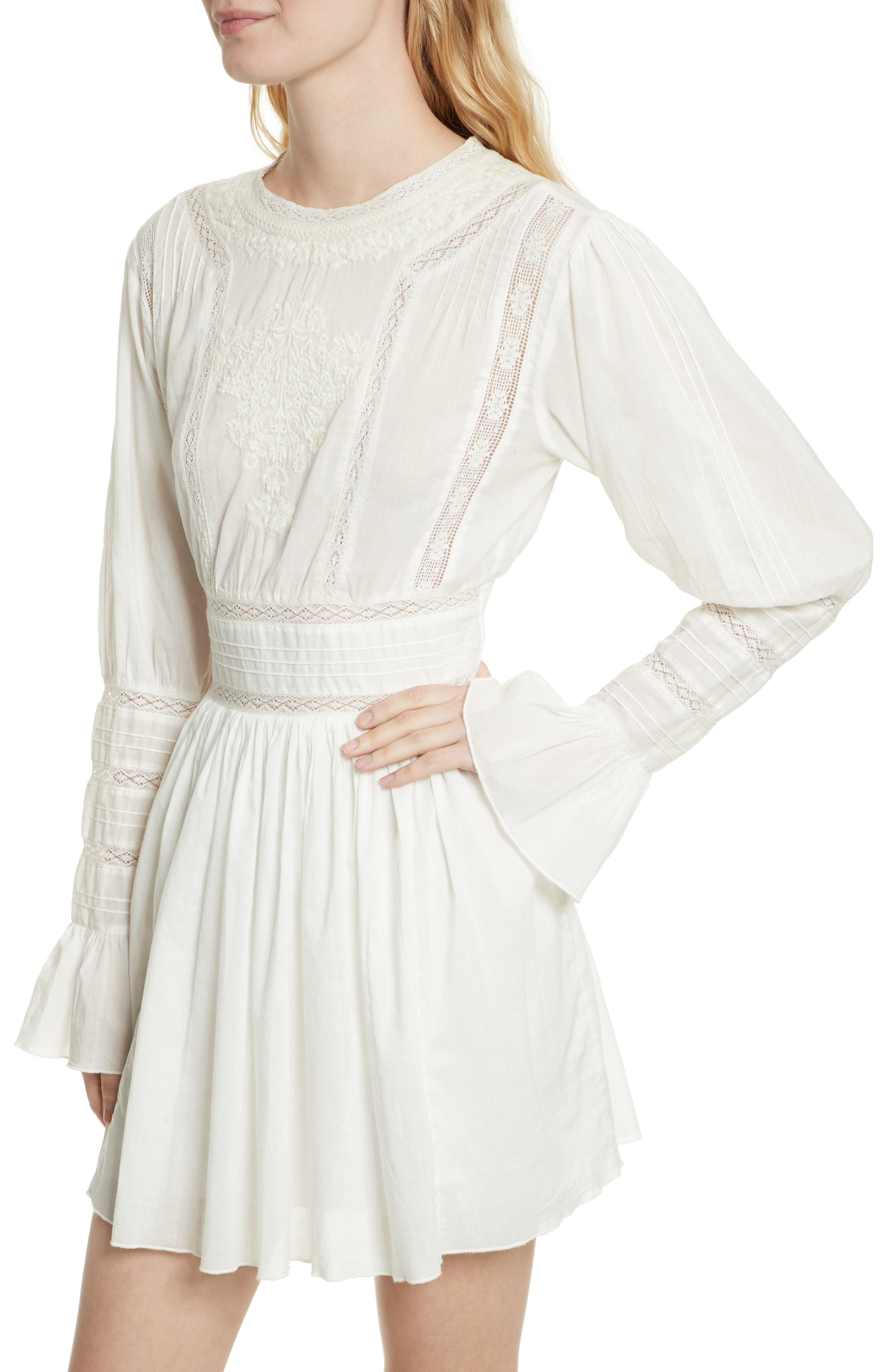 Victorian Minidress,                             Alternate thumbnail 8, color,