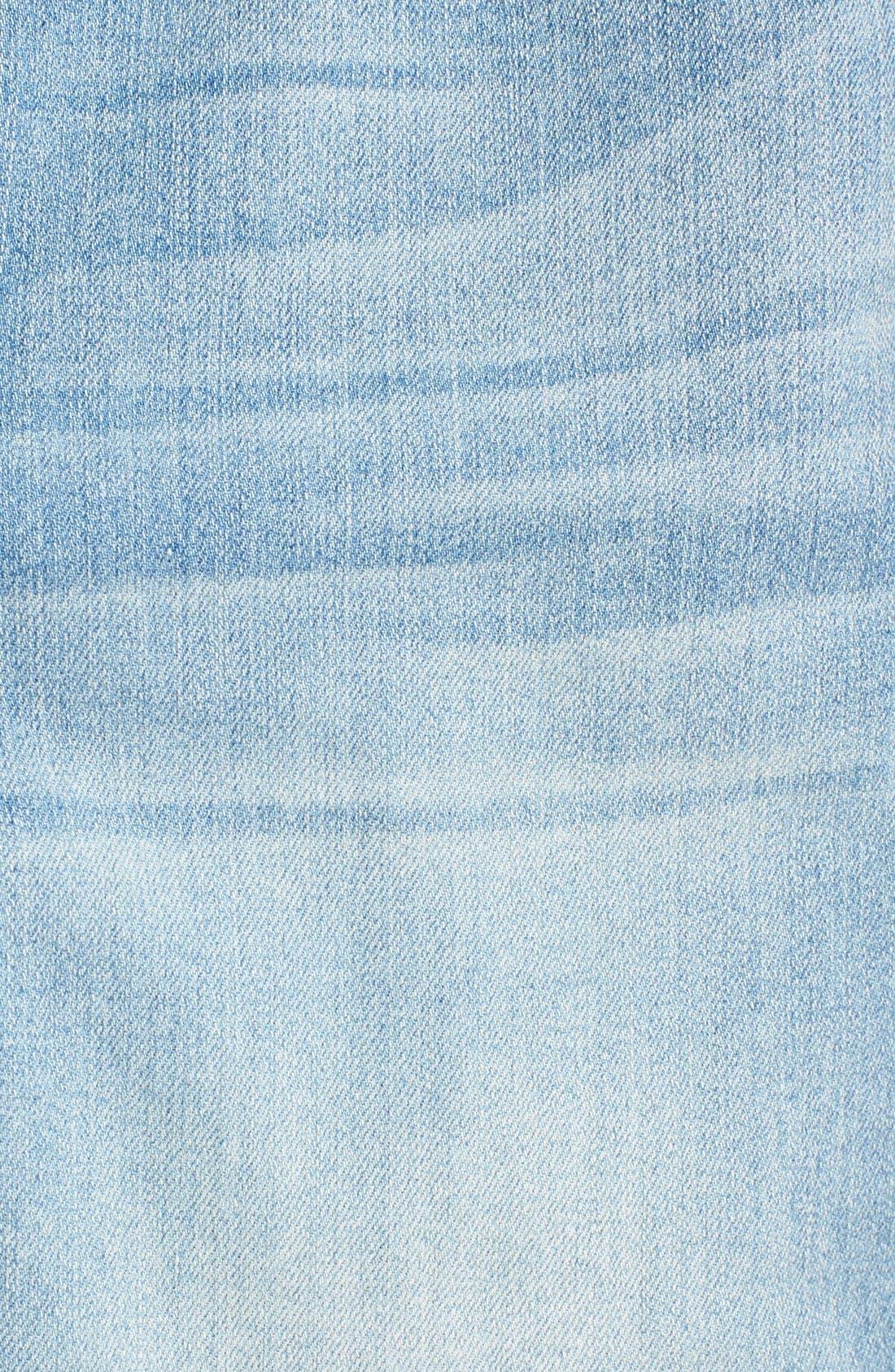'Dayla' Colored Wide Cuff Capri Jeans,                             Alternate thumbnail 26, color,