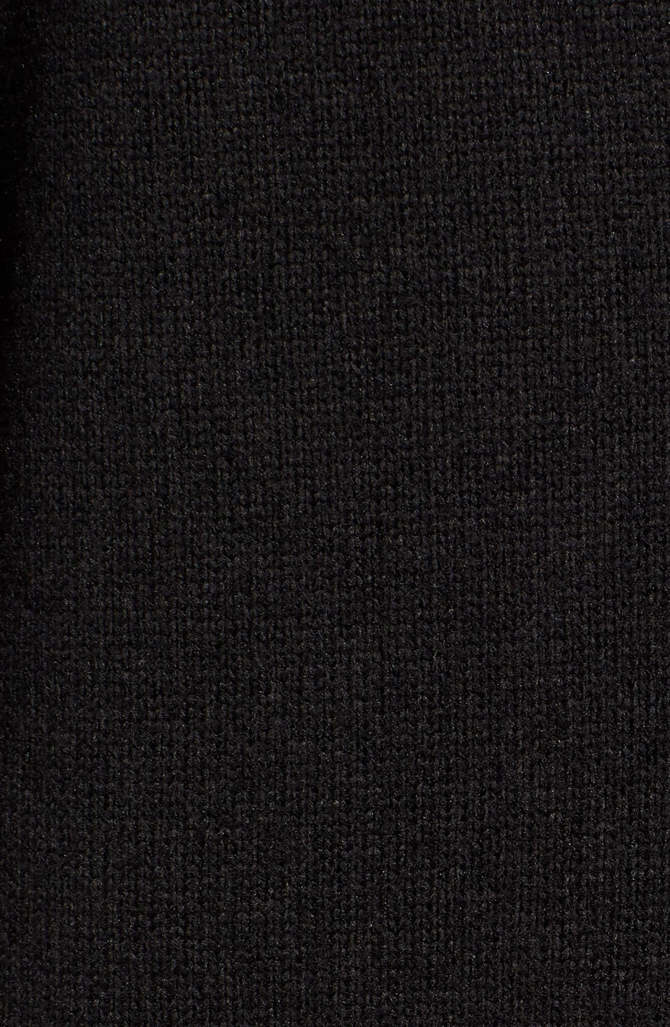 Better Sweater<sup>®</sup> Performance Slim Quarter-Zip Pullover,                             Alternate thumbnail 5, color,                             BLACK