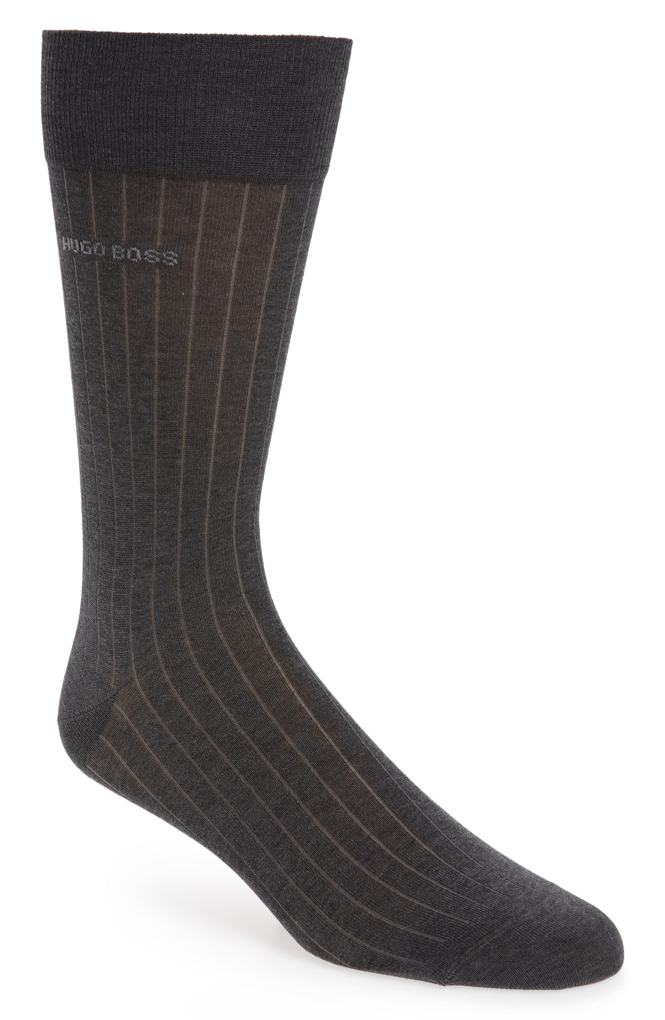 Paul Ribbed Socks,                             Main thumbnail 2, color,