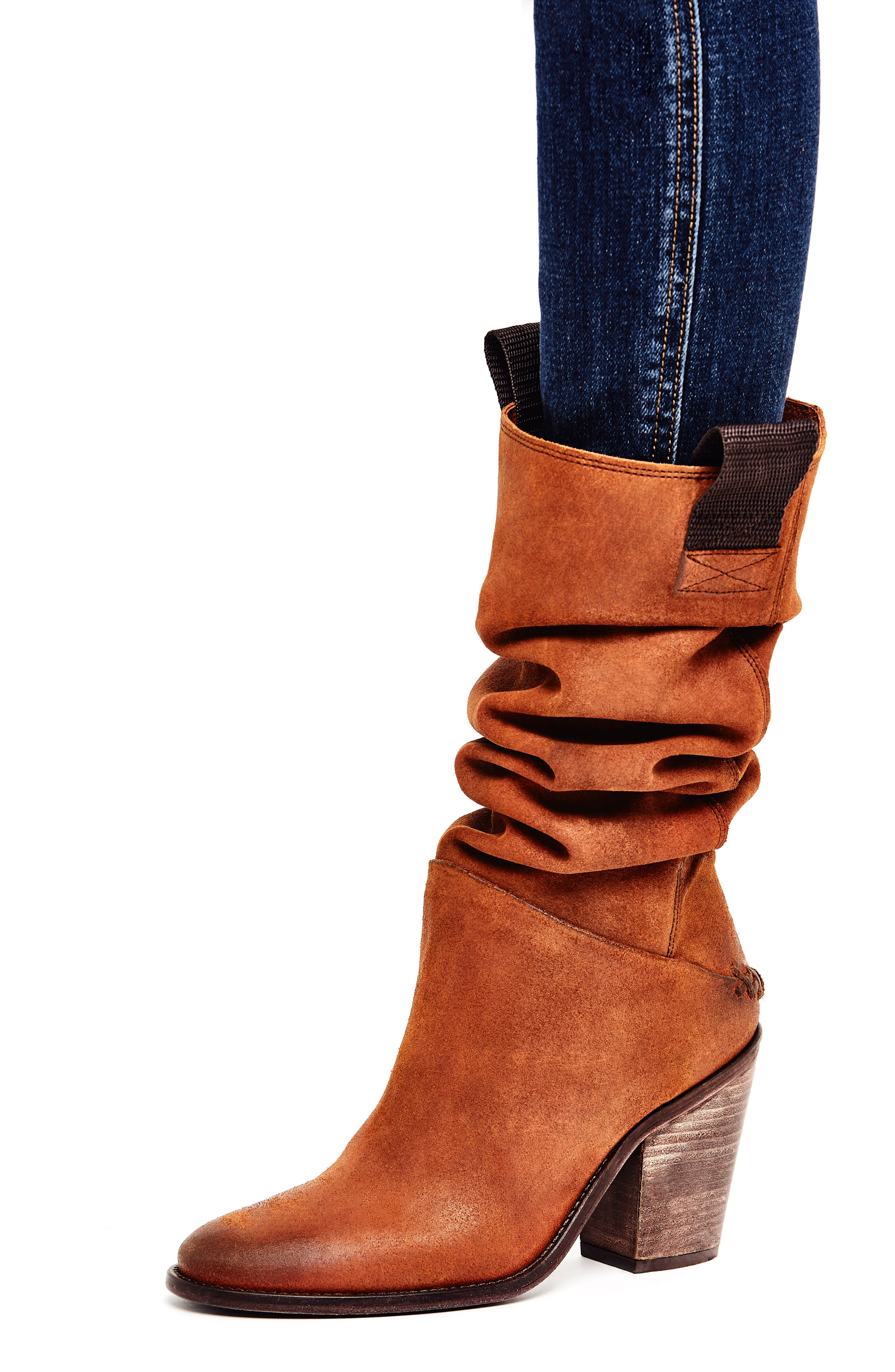 FREE PEOPLE,                             Montgomery Knee High Boot,                             Alternate thumbnail 7, color,                             200