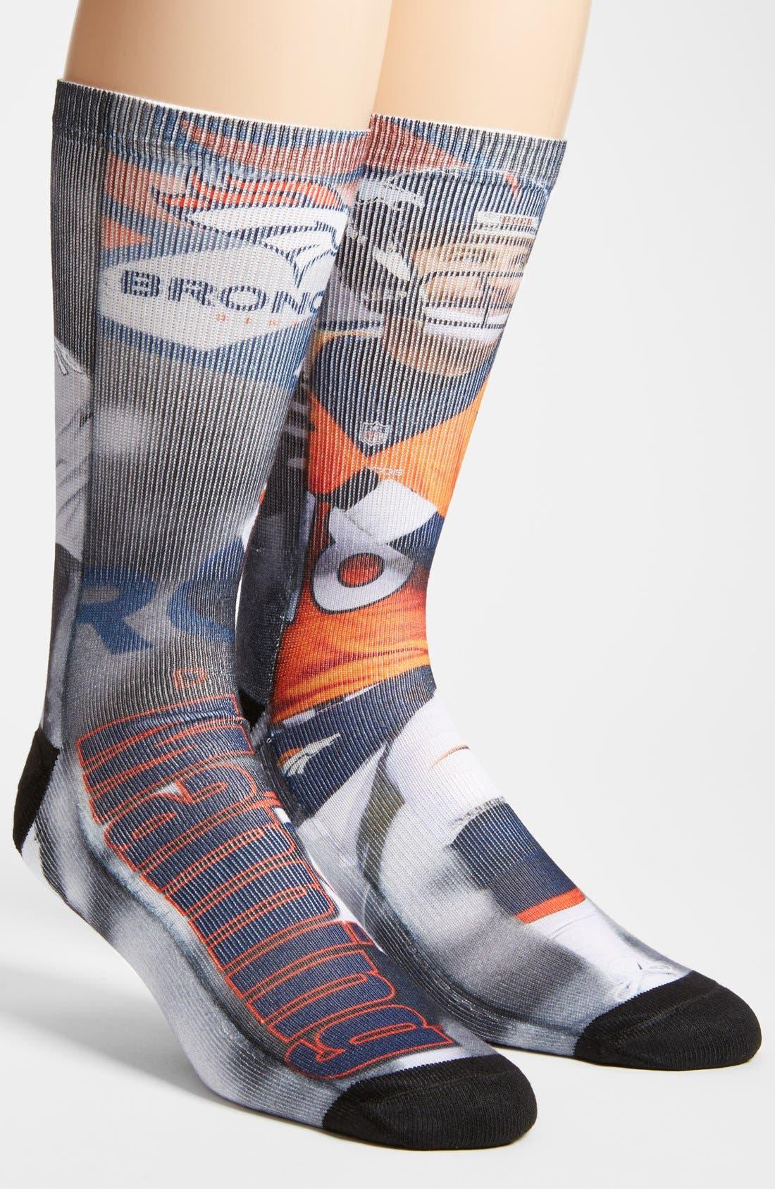 'Denver Broncos - Peyton Manning' Socks,                             Alternate thumbnail 4, color,                             001