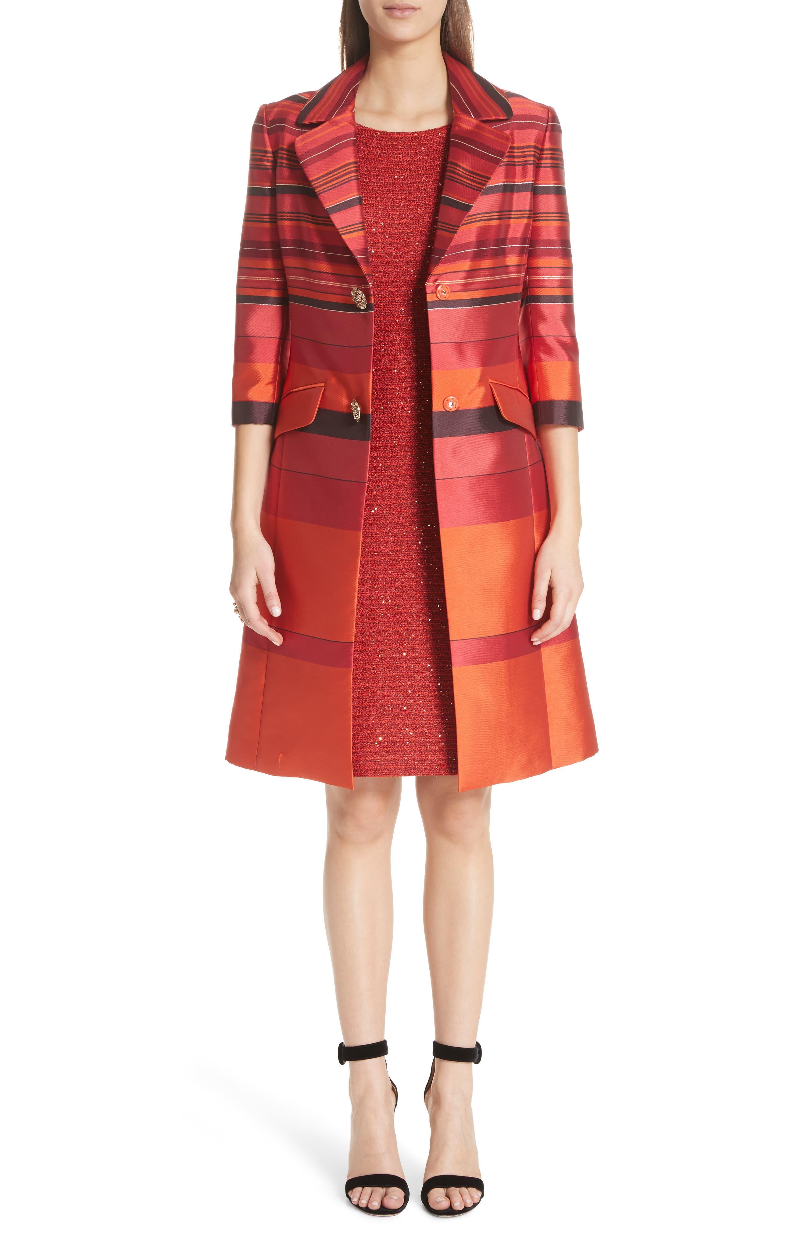 Glamour Sequin Knit Sheath Dress,                             Alternate thumbnail 8, color,                             SIENNA MULTI