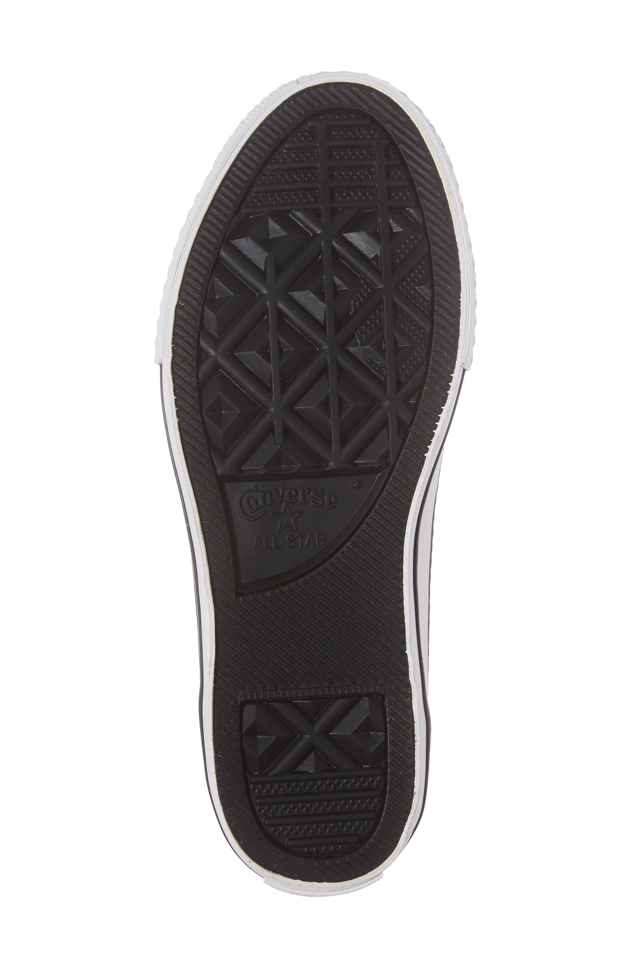 All Star<sup>®</sup> Velvet Double Tongue Sneaker,                             Alternate thumbnail 6, color,