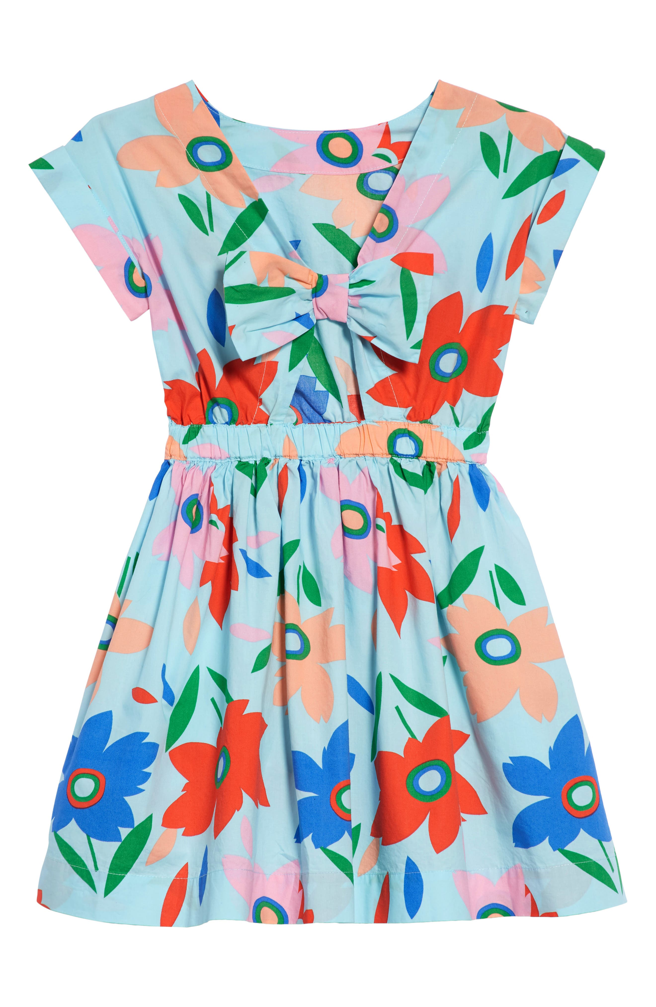 Pia Floral Dress,                             Alternate thumbnail 2, color,                             400
