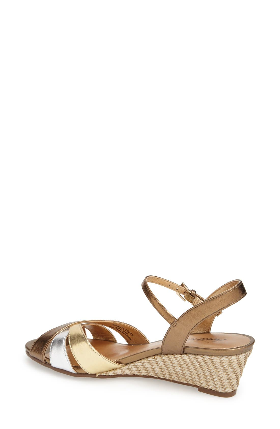 'Mickey' Wedge Sandal,                             Alternate thumbnail 25, color,