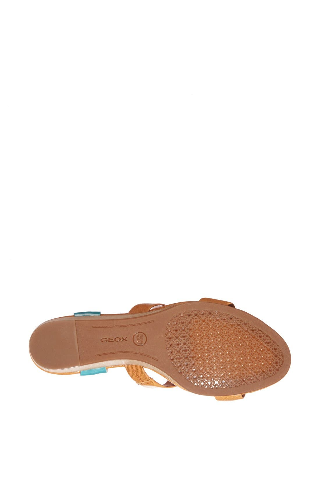 GEOX,                             'Lupe' Leather Sandal,                             Alternate thumbnail 3, color,                             258