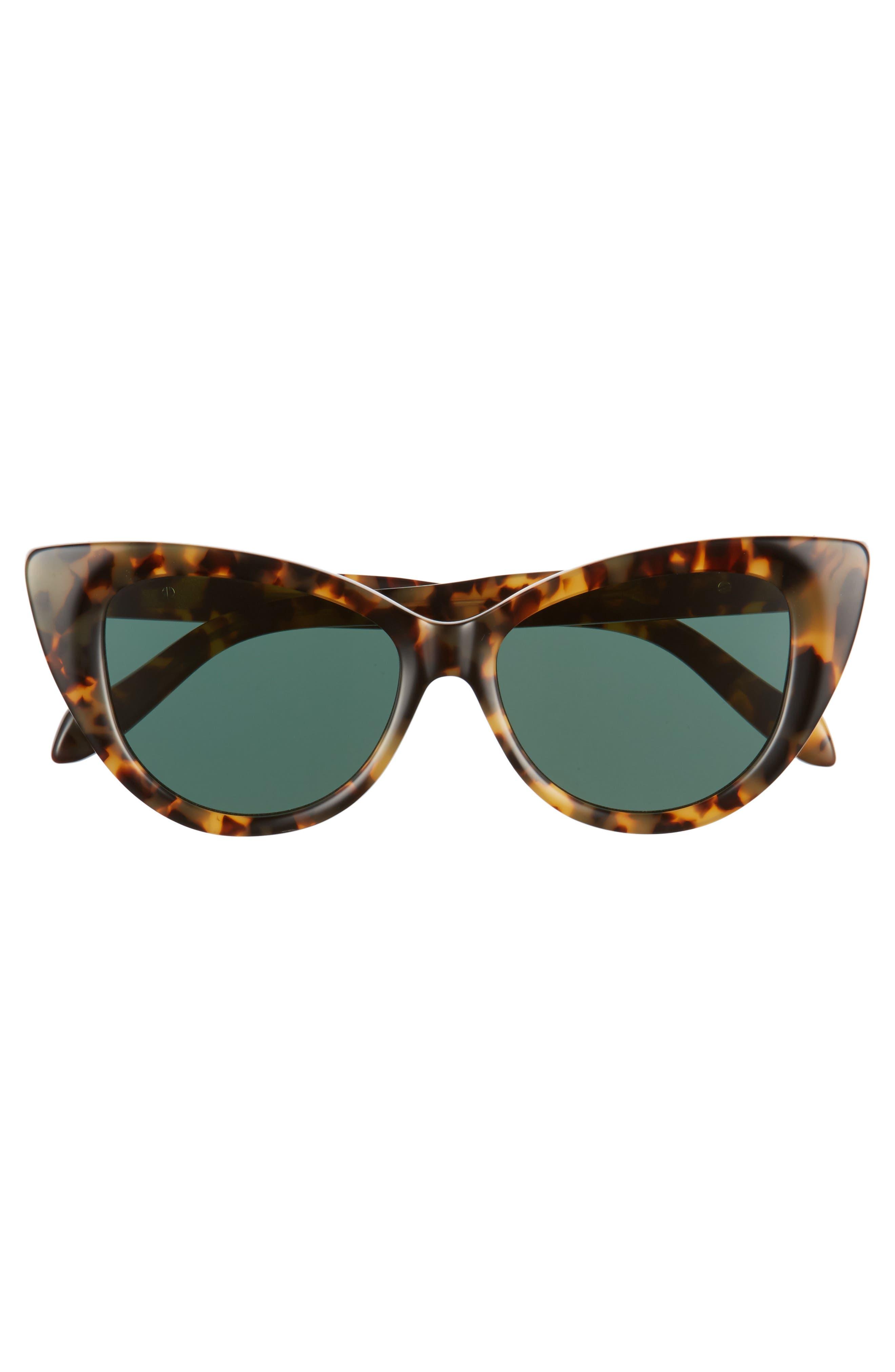 Kyoto 51mm Cat Eye Sunglasses,                             Alternate thumbnail 13, color,