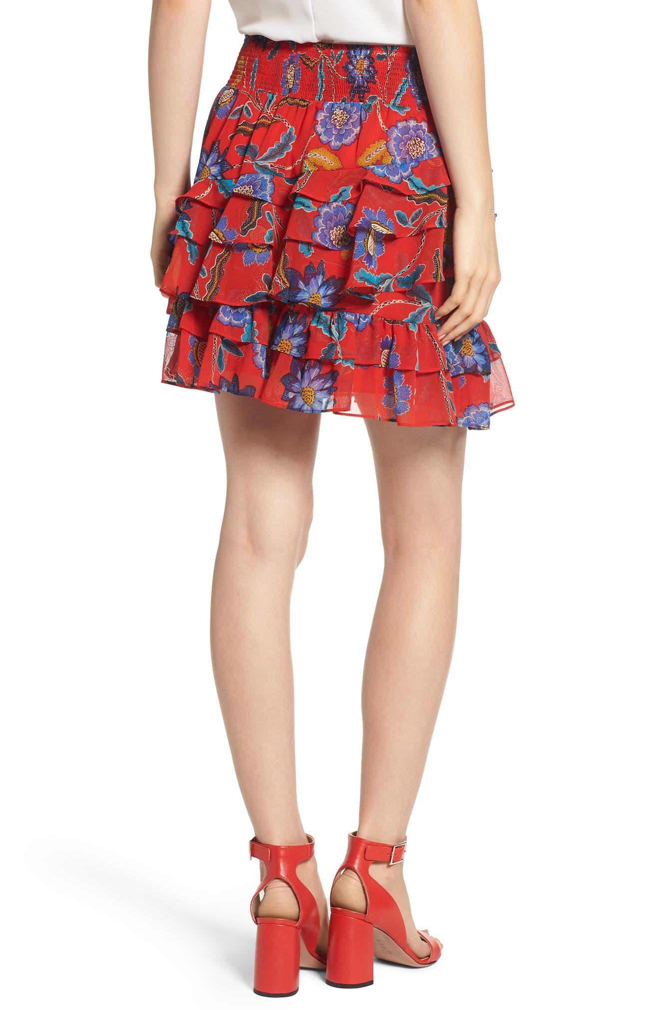 Lila Skirt,                             Alternate thumbnail 2, color,                             607
