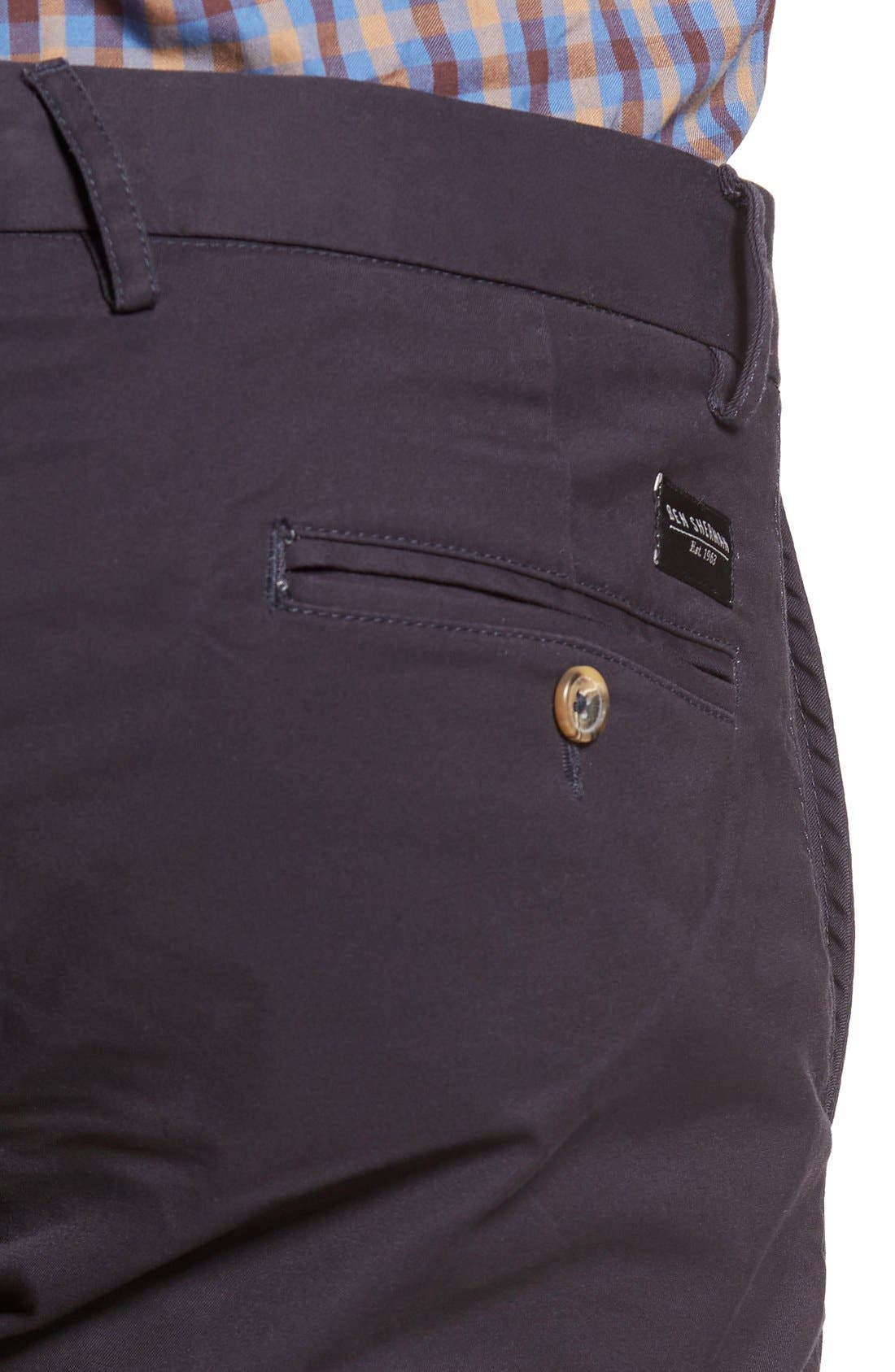 Slim Fit Stretch Chinos,                             Alternate thumbnail 35, color,