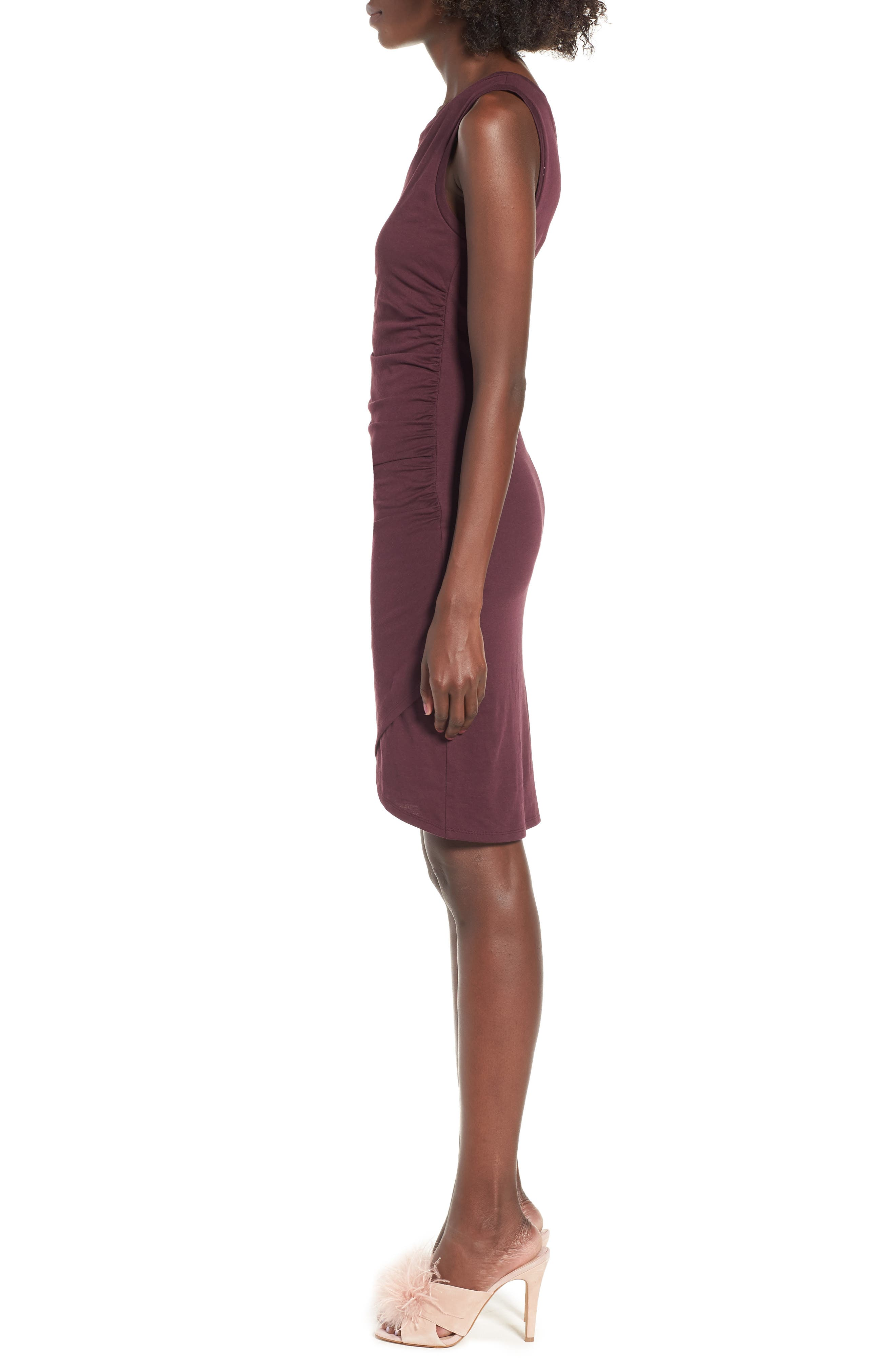 Ruched Body-Con Tank Dress,                             Alternate thumbnail 133, color,
