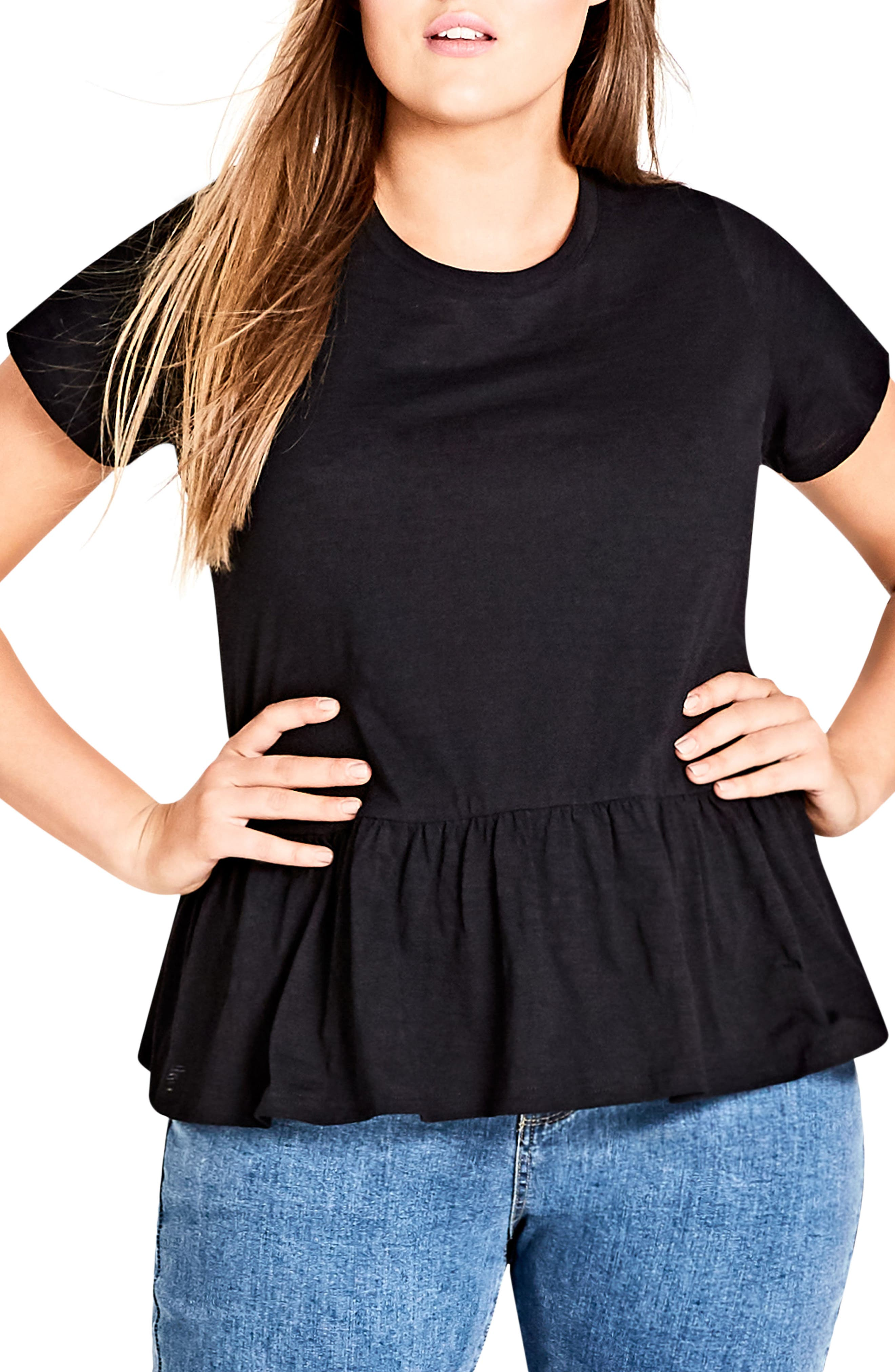 Spring Frill Cotton Top,                             Alternate thumbnail 5, color,