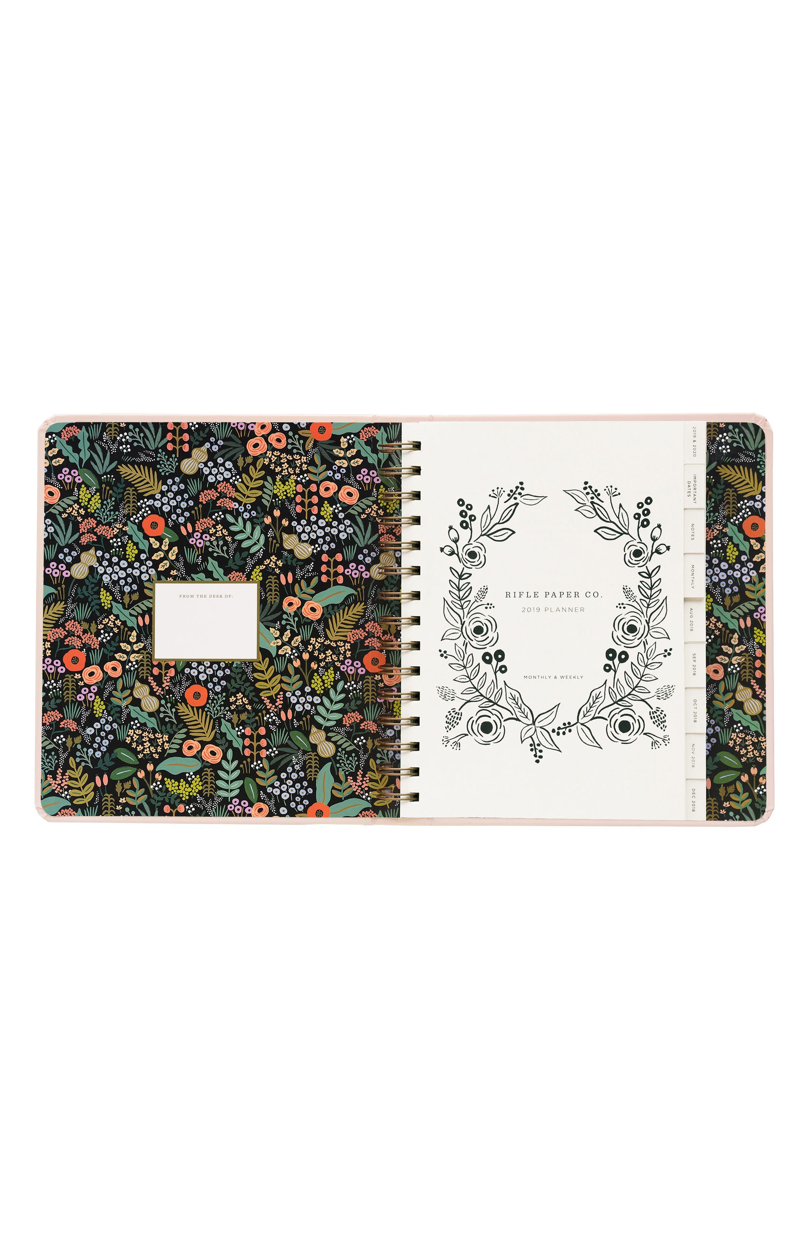 2019 Bouquet 17-Month Planner,                             Alternate thumbnail 6, color,                             650