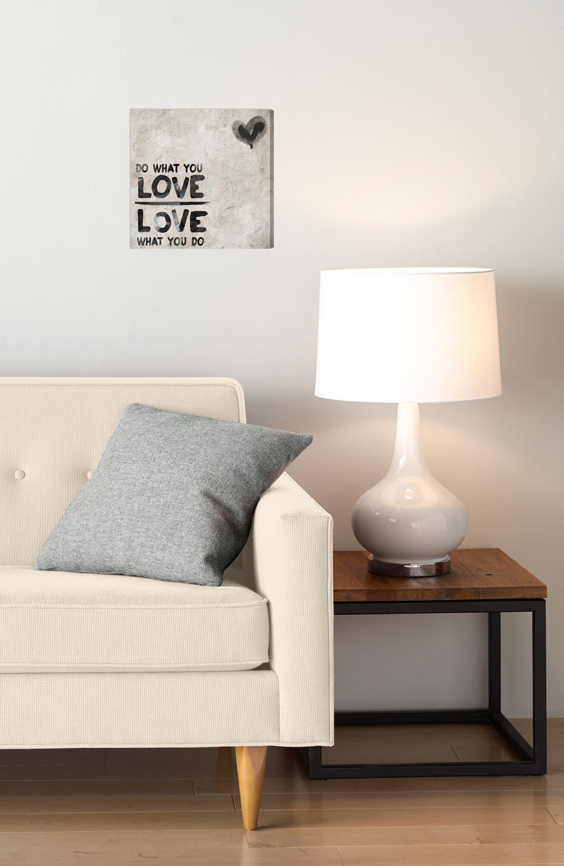 'Do What You Love' Wall Art,                             Alternate thumbnail 2, color,                             020