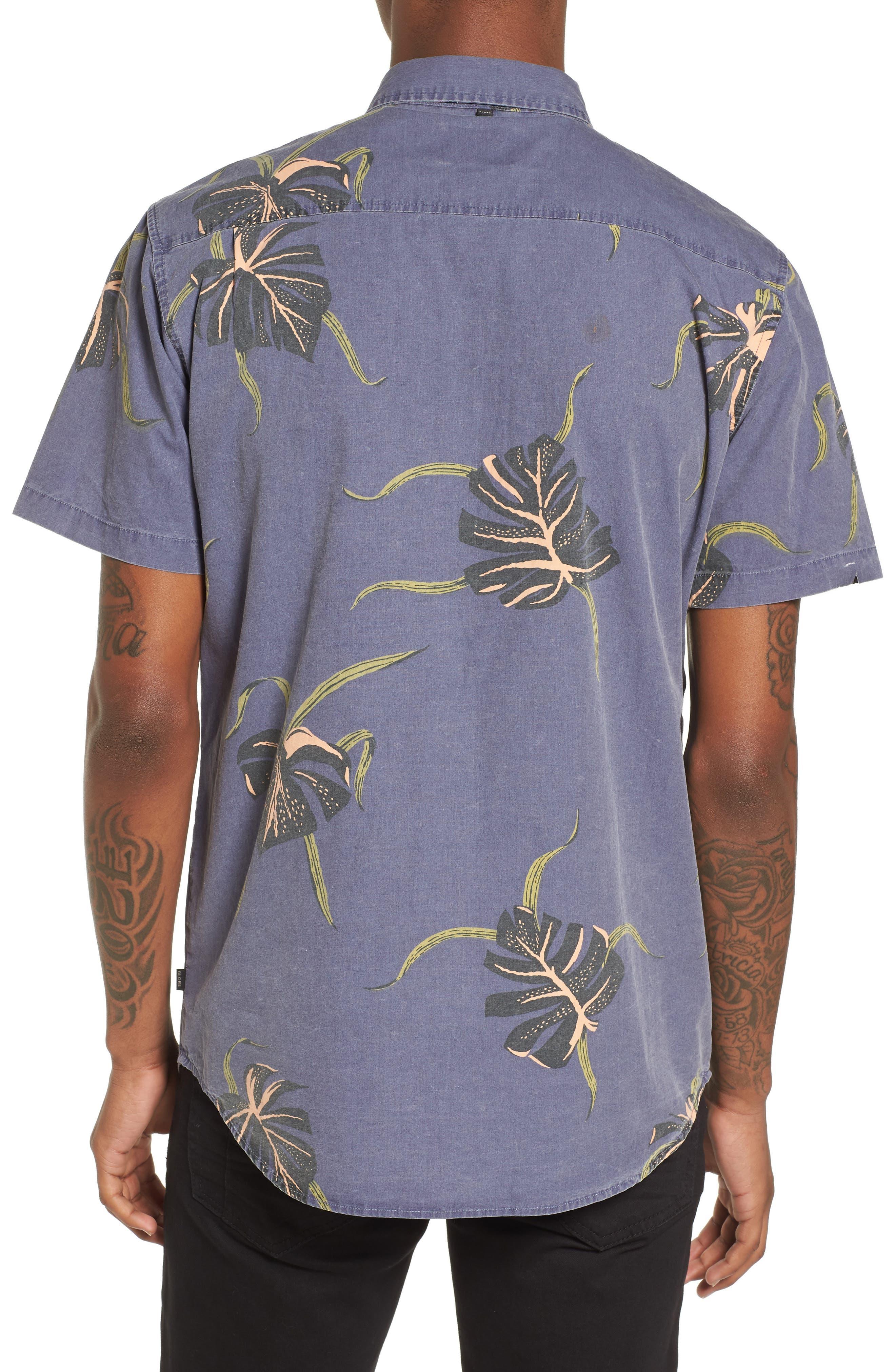 Pointer Woven Shirt,                             Alternate thumbnail 2, color,                             MOONLIGHT BLUE
